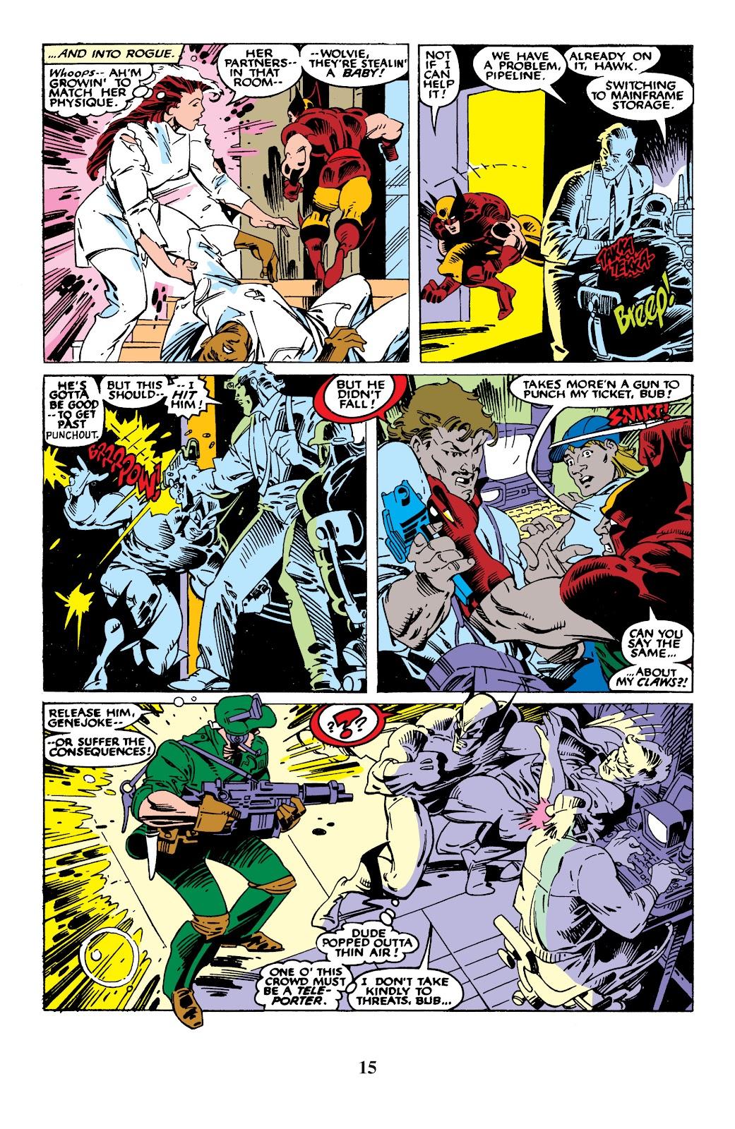 Uncanny X-Men (1963) issue 235 - Page 15