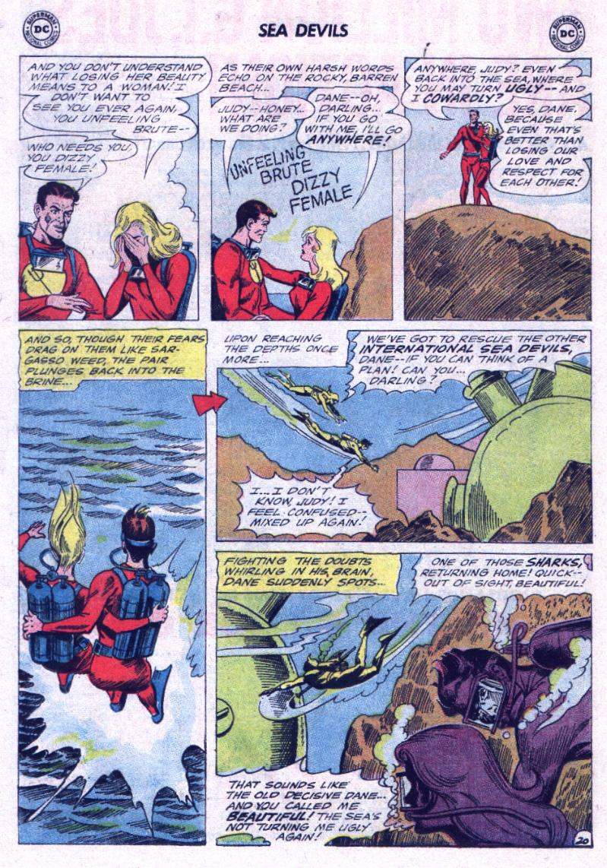 Read online Sea Devils comic -  Issue #23 - 26