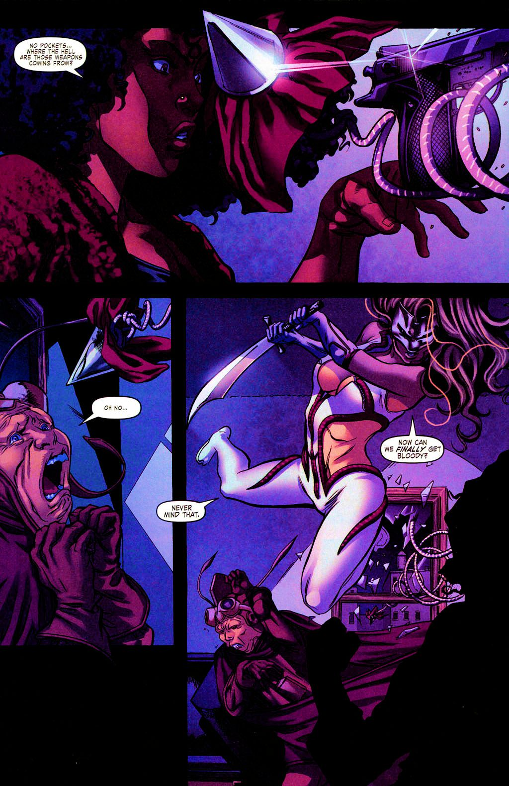 Read online Daughters of the Dragon comic -  Issue #4 - 6