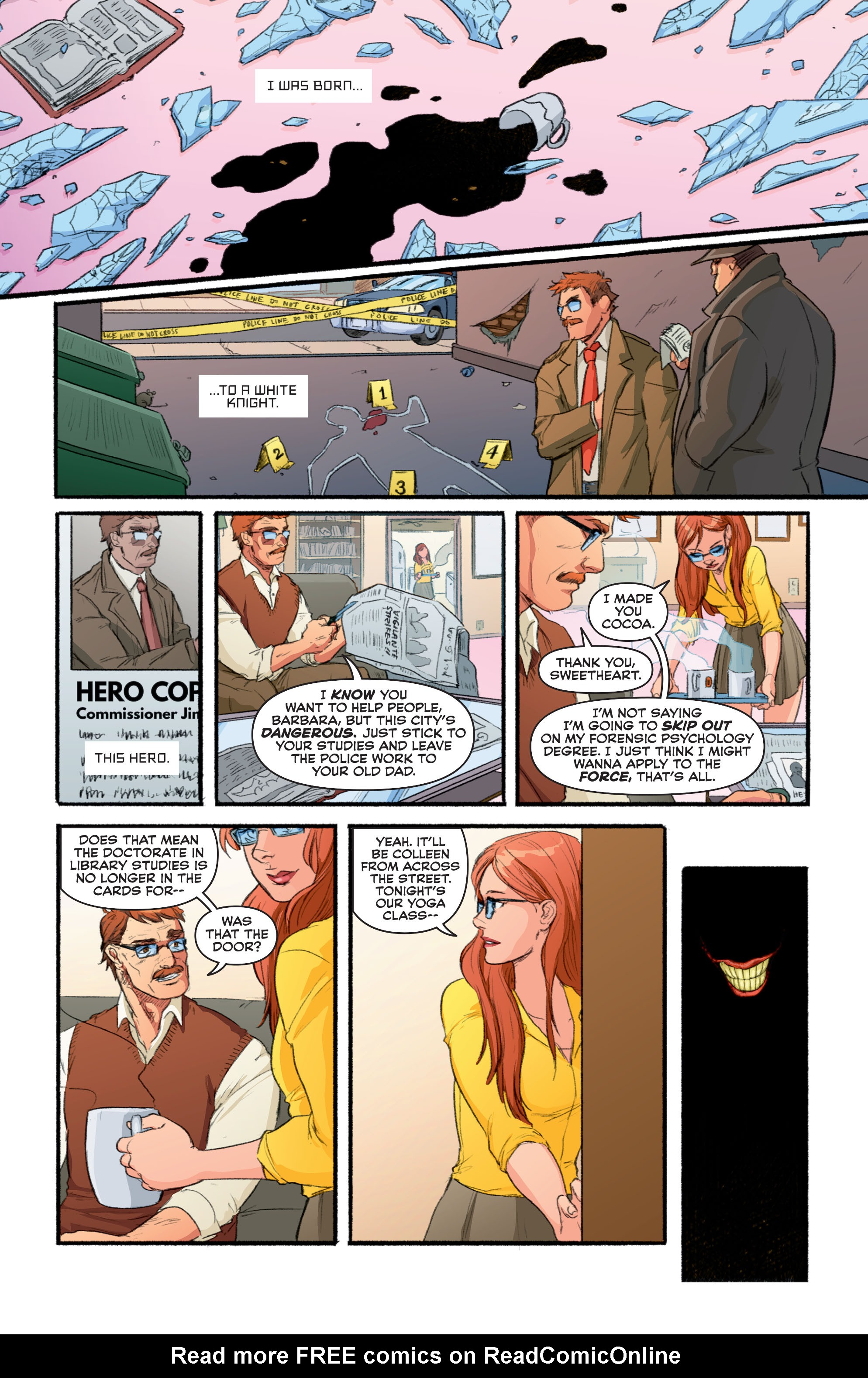 Read online Secret Origins (2014) comic -  Issue #10 - 8