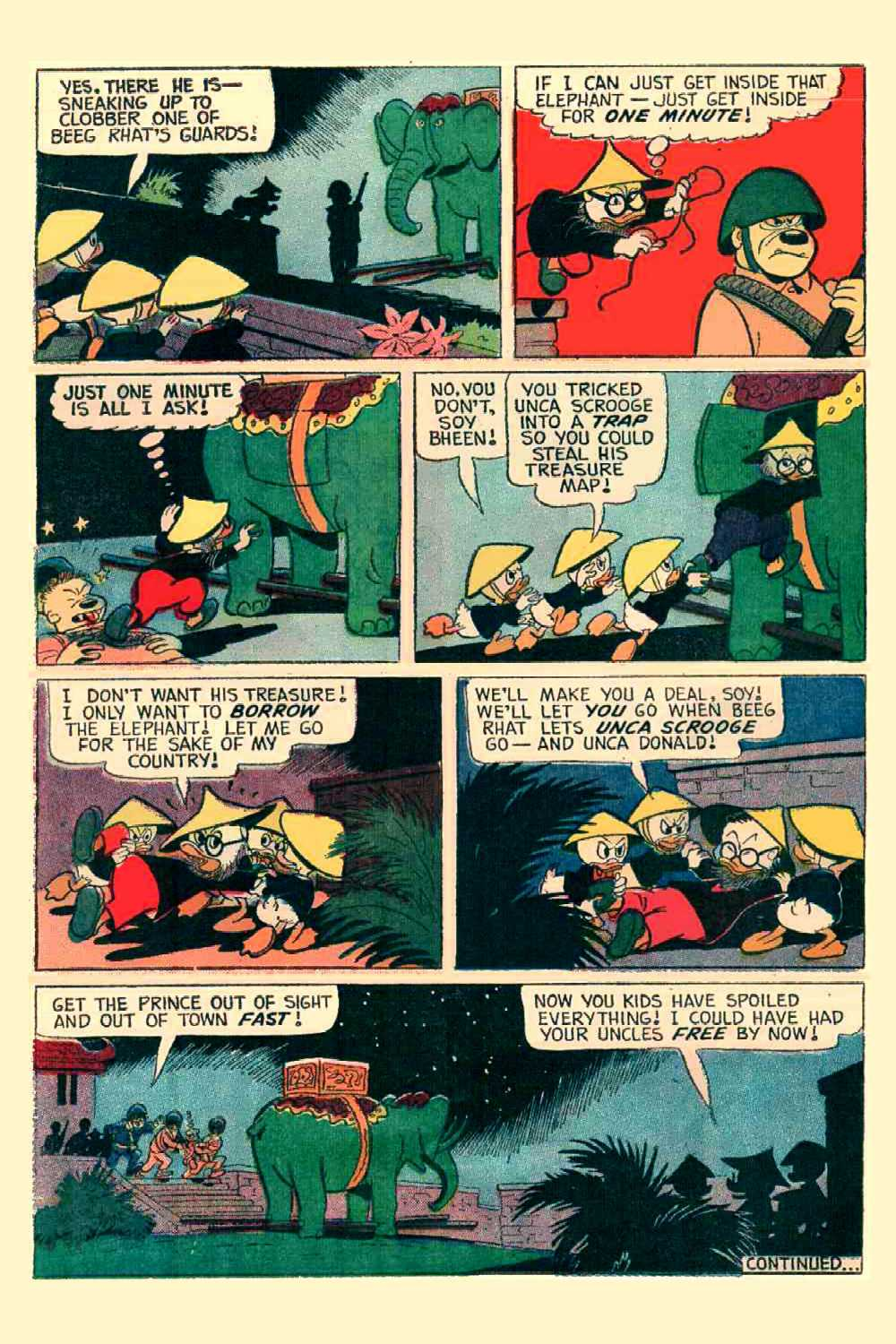 Read online Uncle Scrooge (1953) comic -  Issue #64 - 17