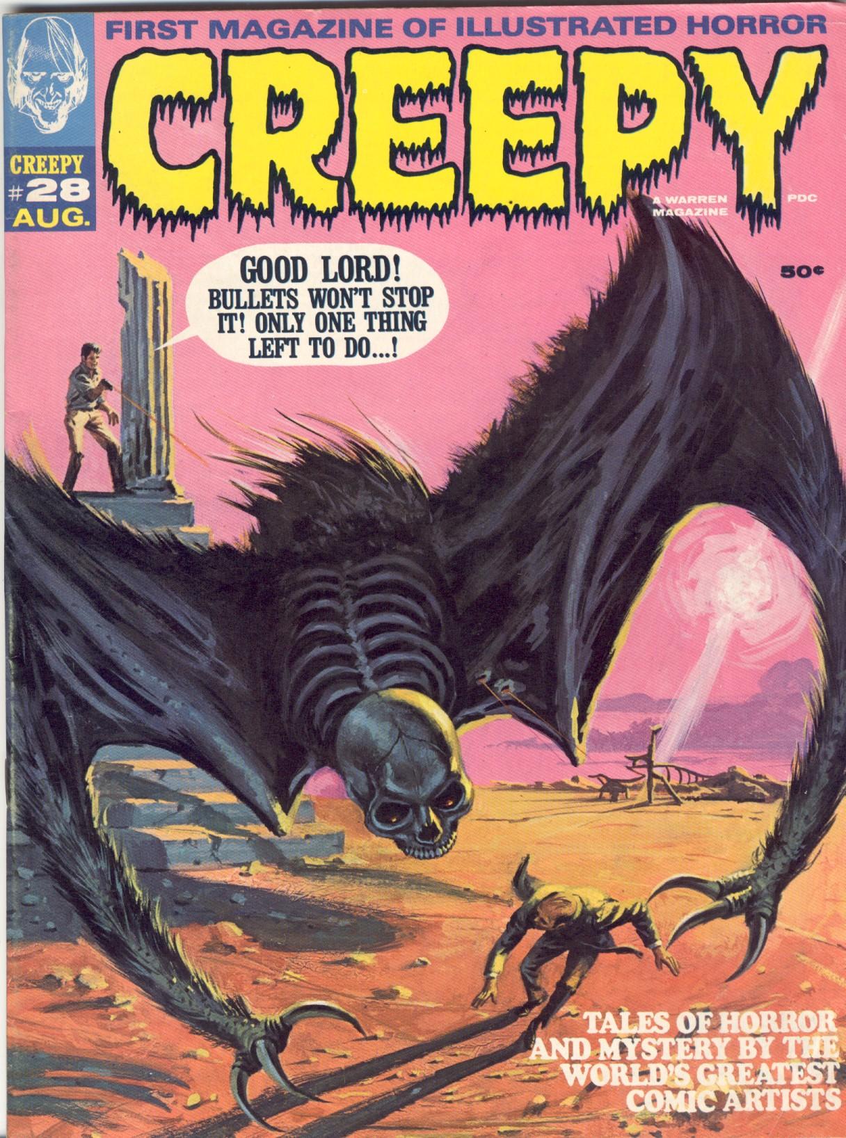 Creepy (1964) 28 Page 1