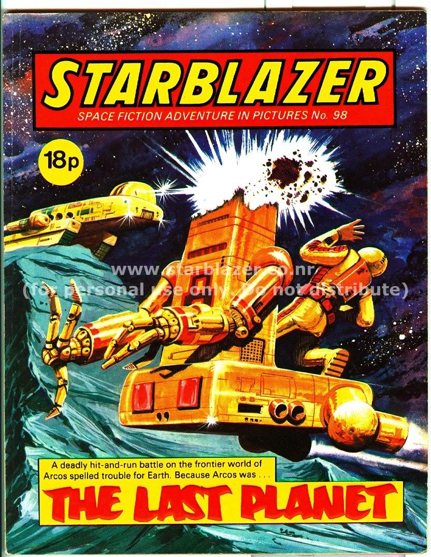 Starblazer issue 98 - Page 2