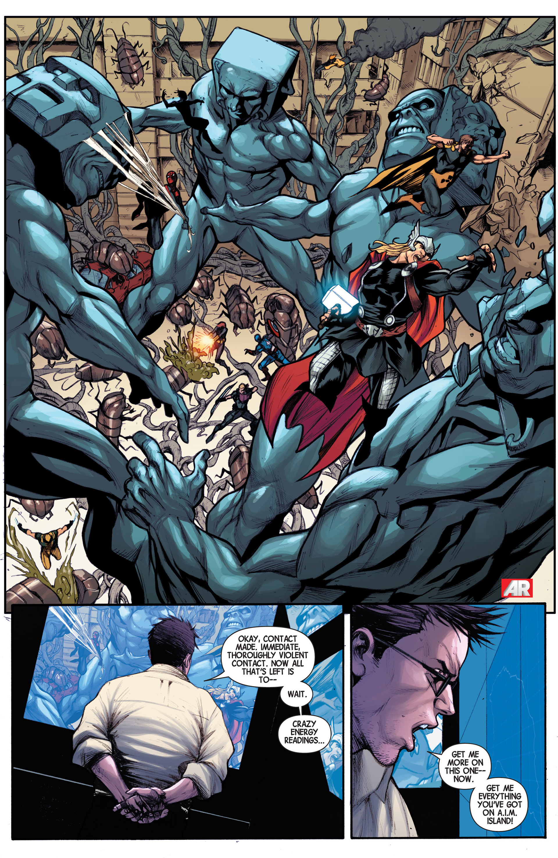 Read online Avengers (2013) comic -  Issue #14 - 22