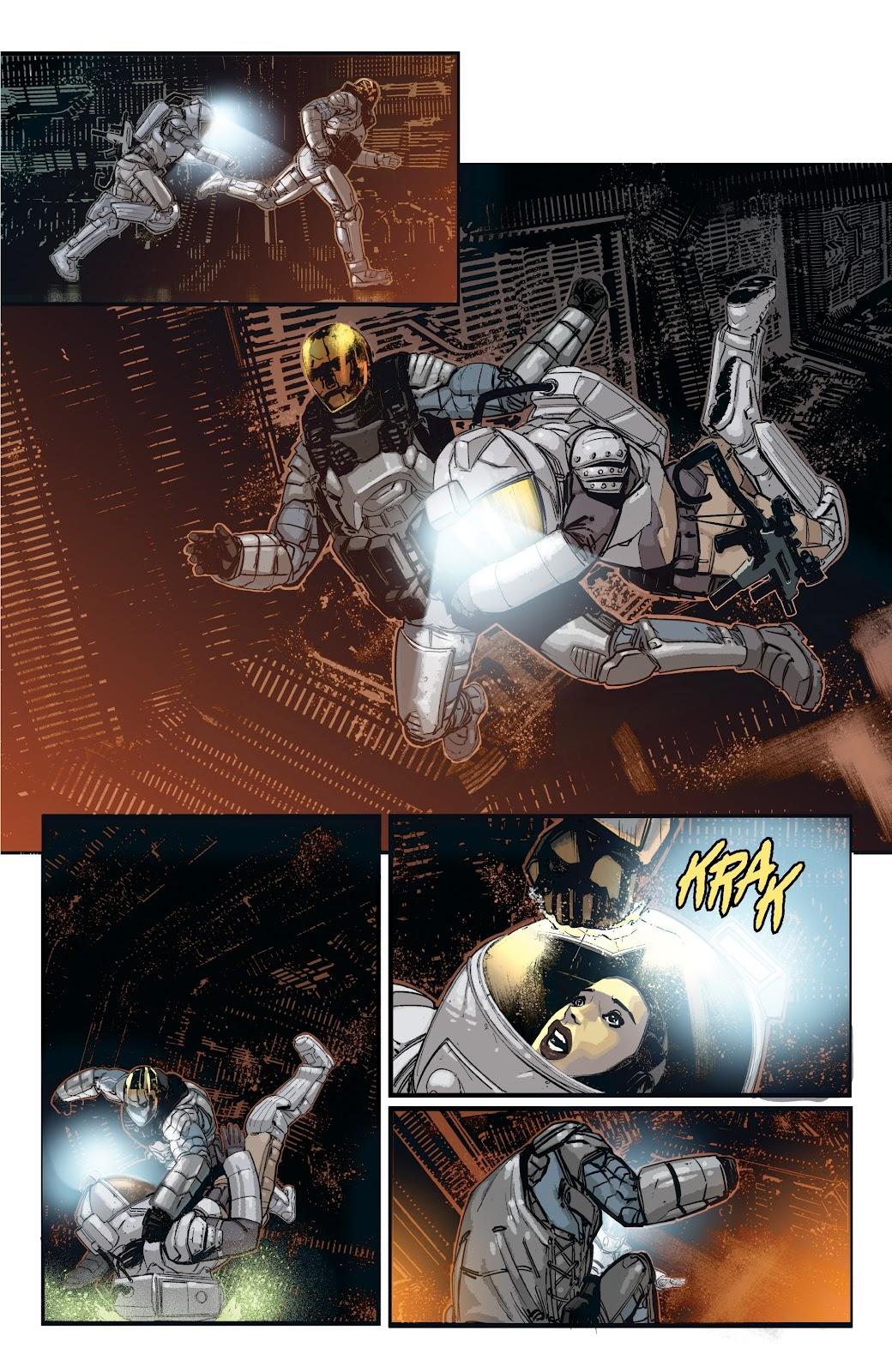 Read online Aliens: Resistance comic -  Issue #2 - 11
