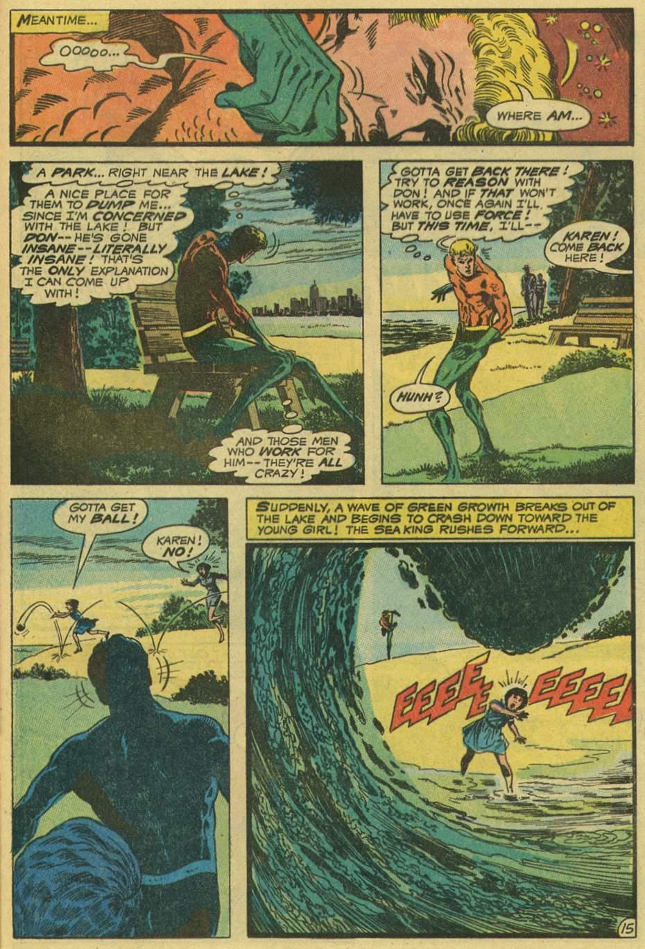 Read online Aquaman (1962) comic -  Issue #56 - 21