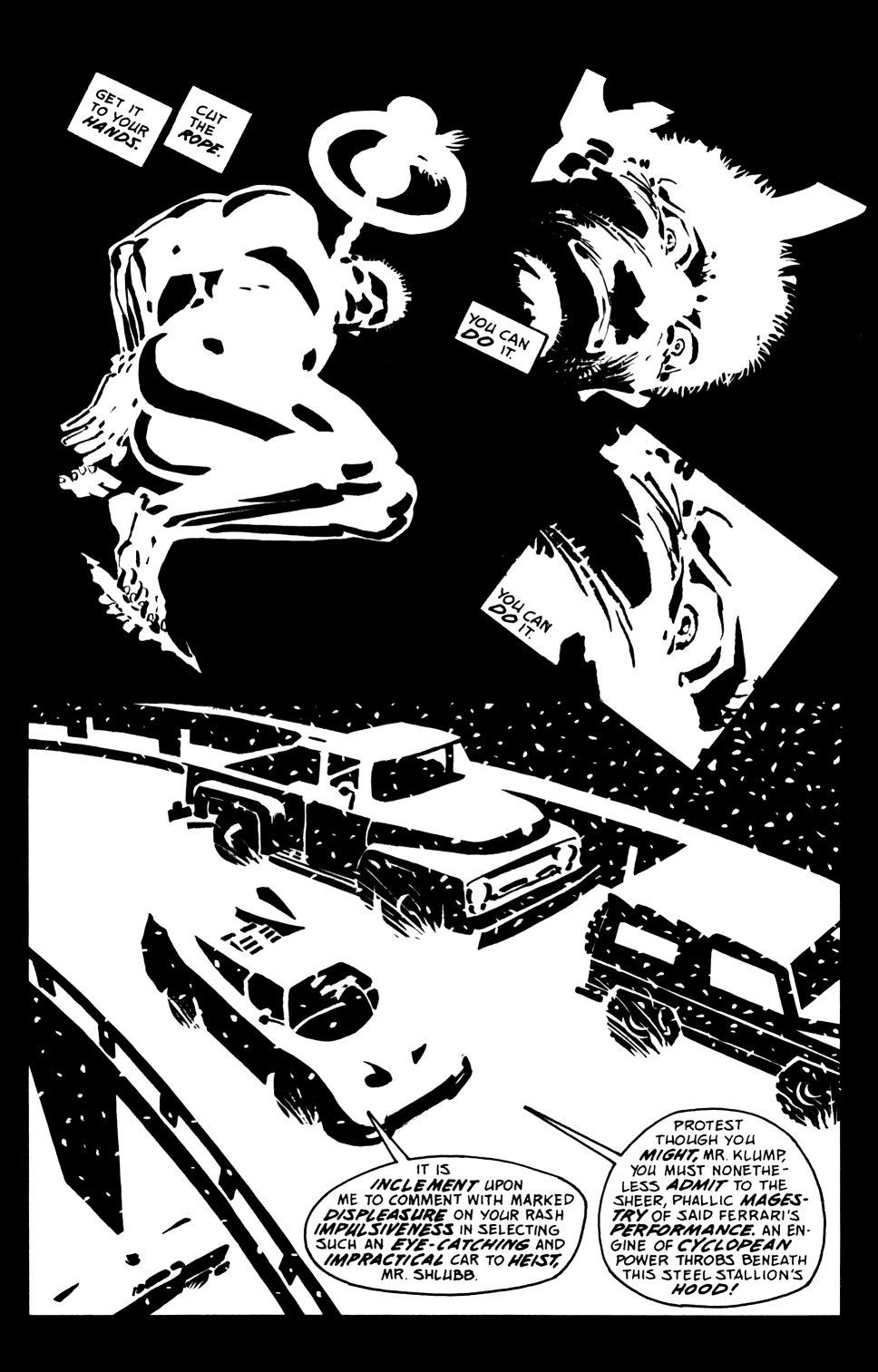 Read online Sin City: That Yellow Bastard comic -  Issue #6 - 16