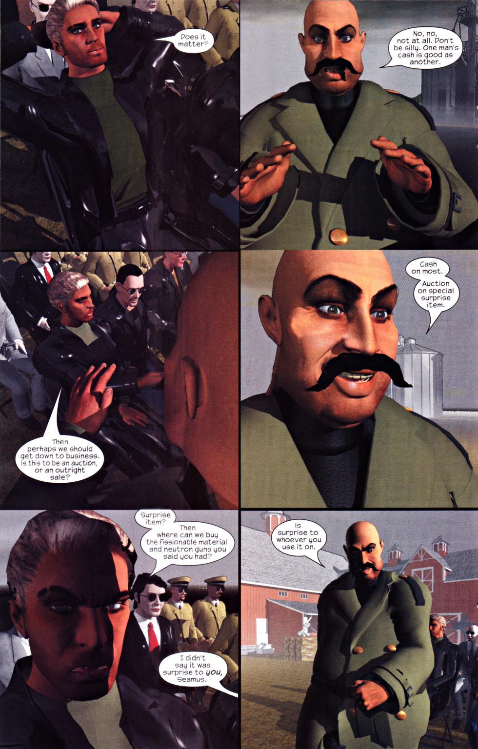 Read online U.S. War Machine 2.0 comic -  Issue #1 - 13