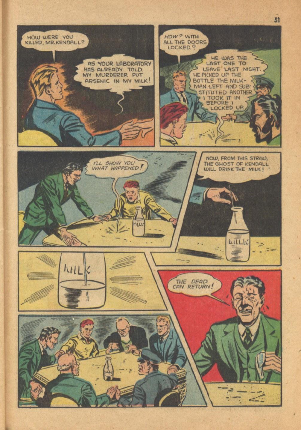 Read online Super-Magician Comics comic -  Issue #13 - 51