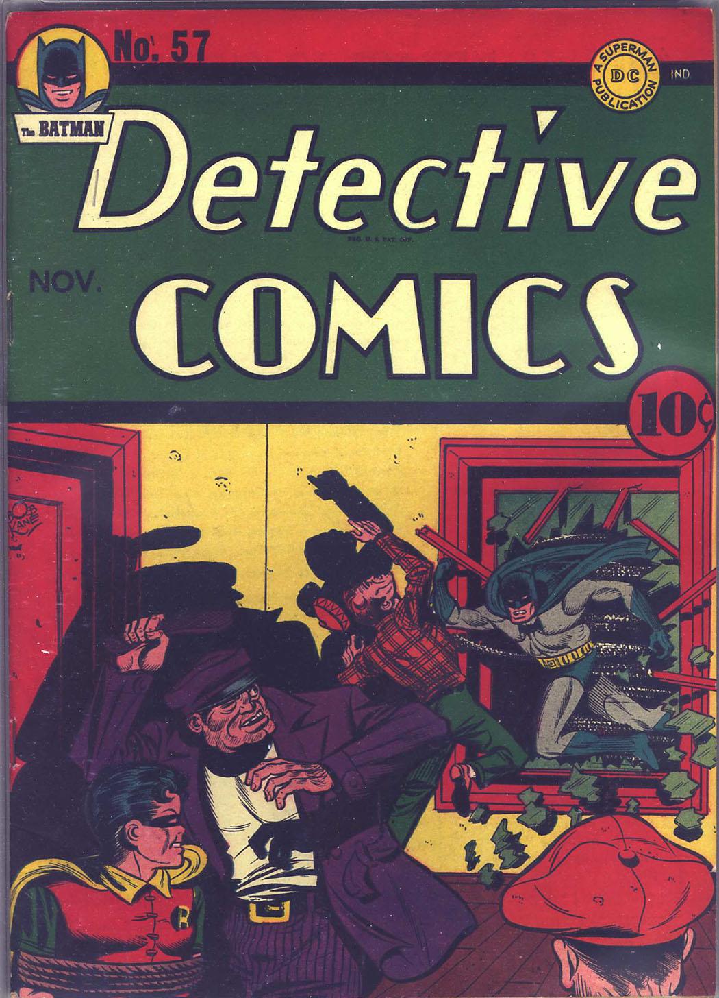 Detective Comics (1937) 57 Page 0