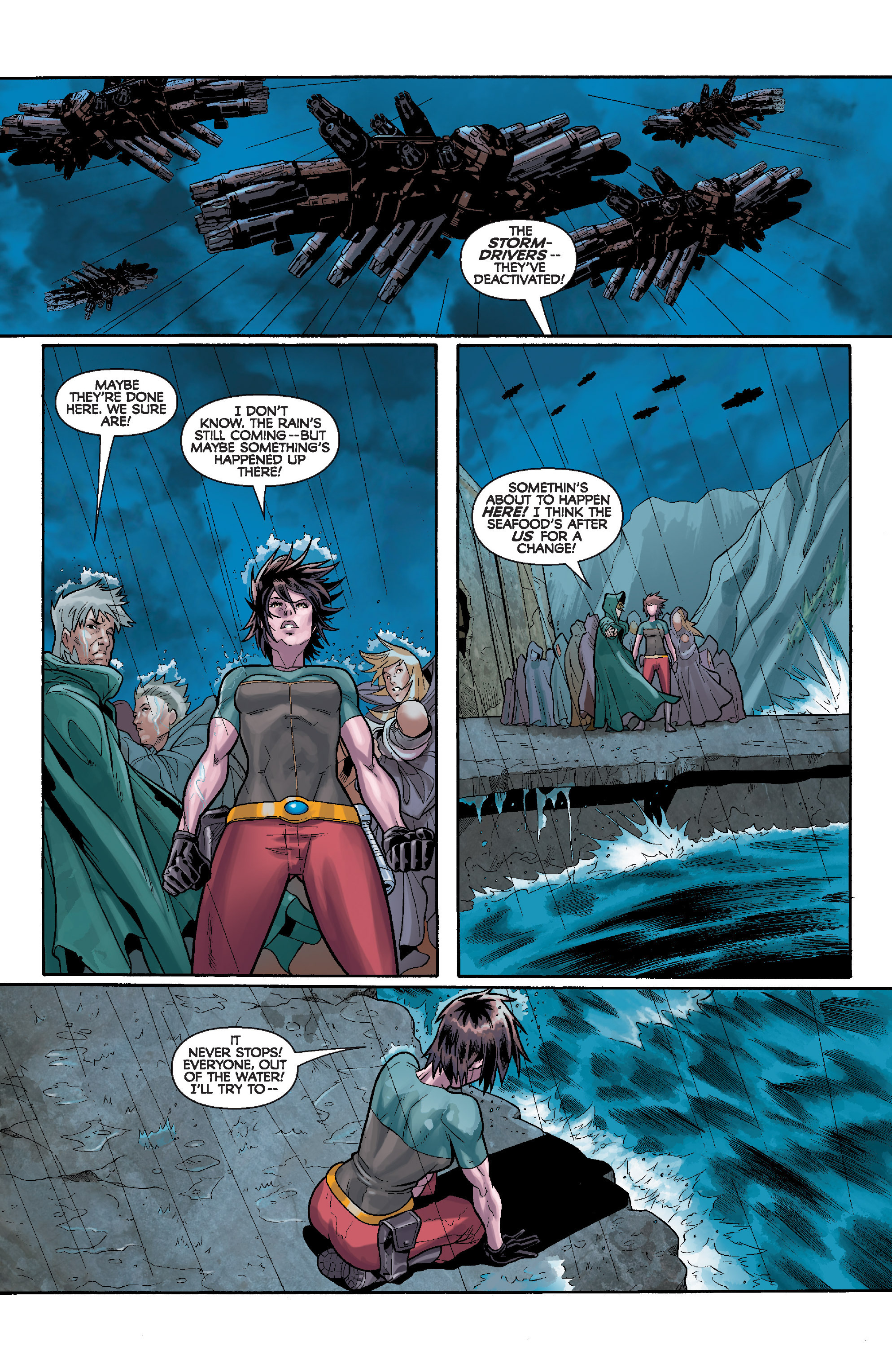 Read online Star Wars: Knight Errant - Deluge comic -  Issue #4 - 15