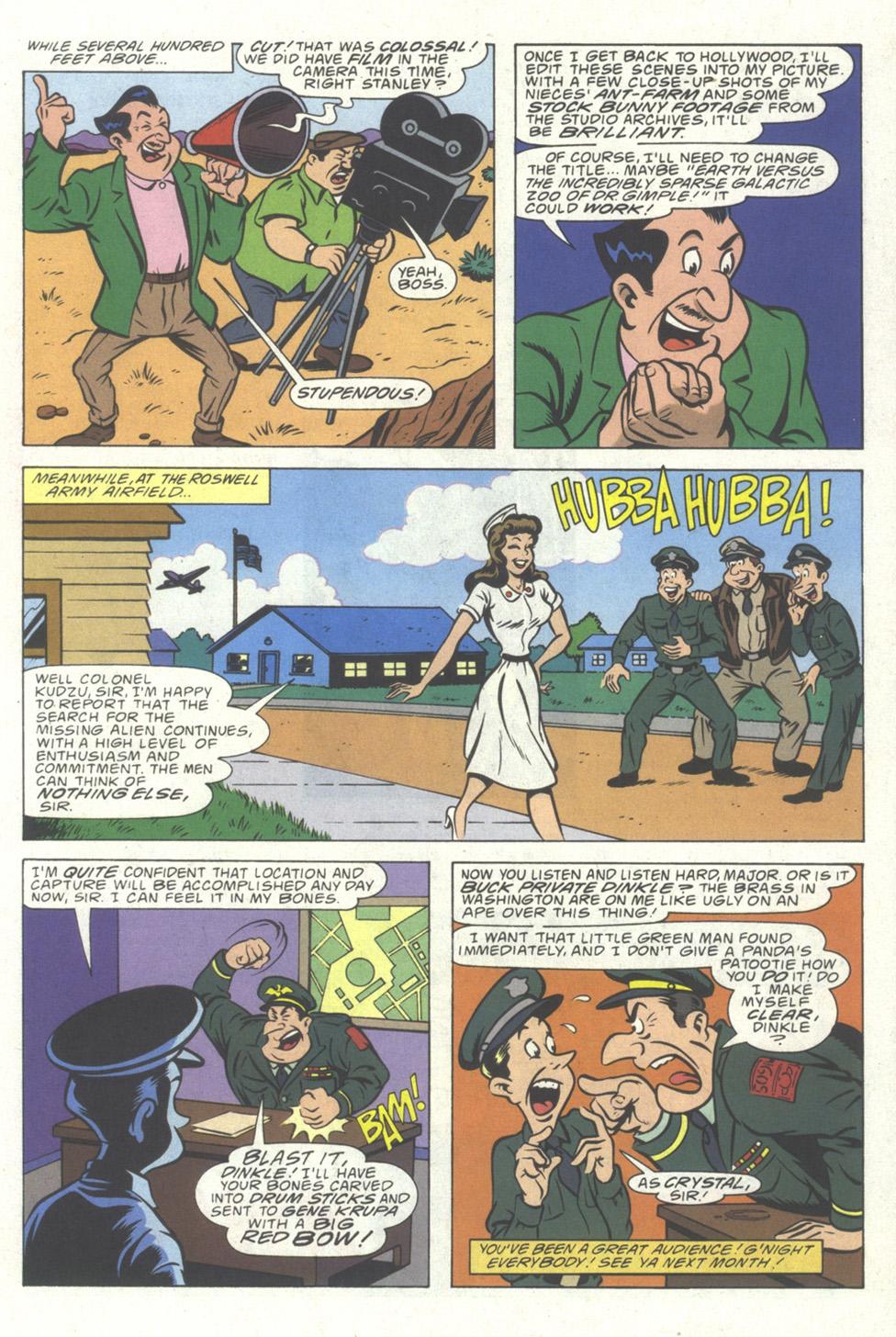 Read online Simpsons Comics comic -  Issue #20 - 31
