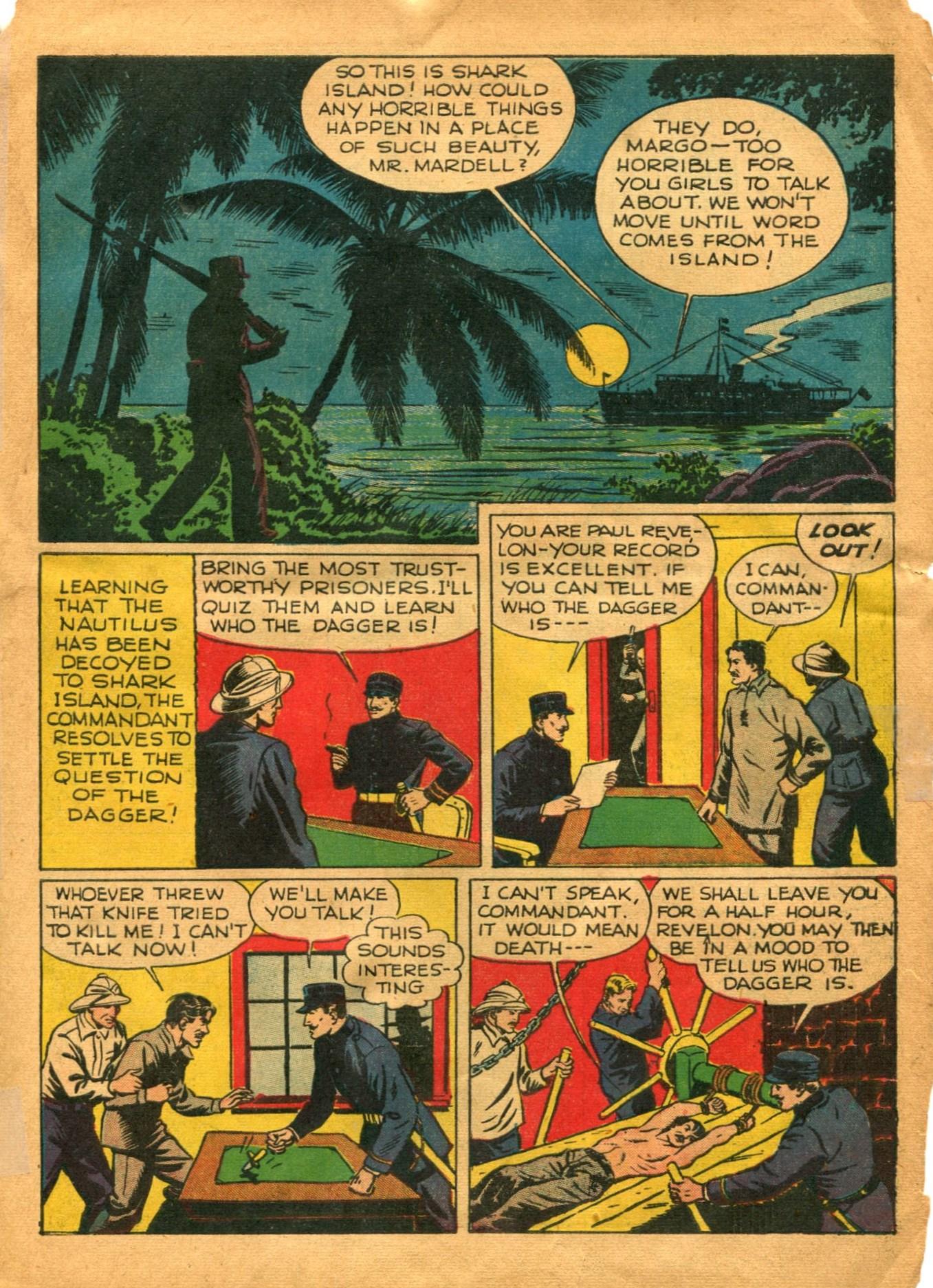 Read online Shadow Comics comic -  Issue #12 - 13