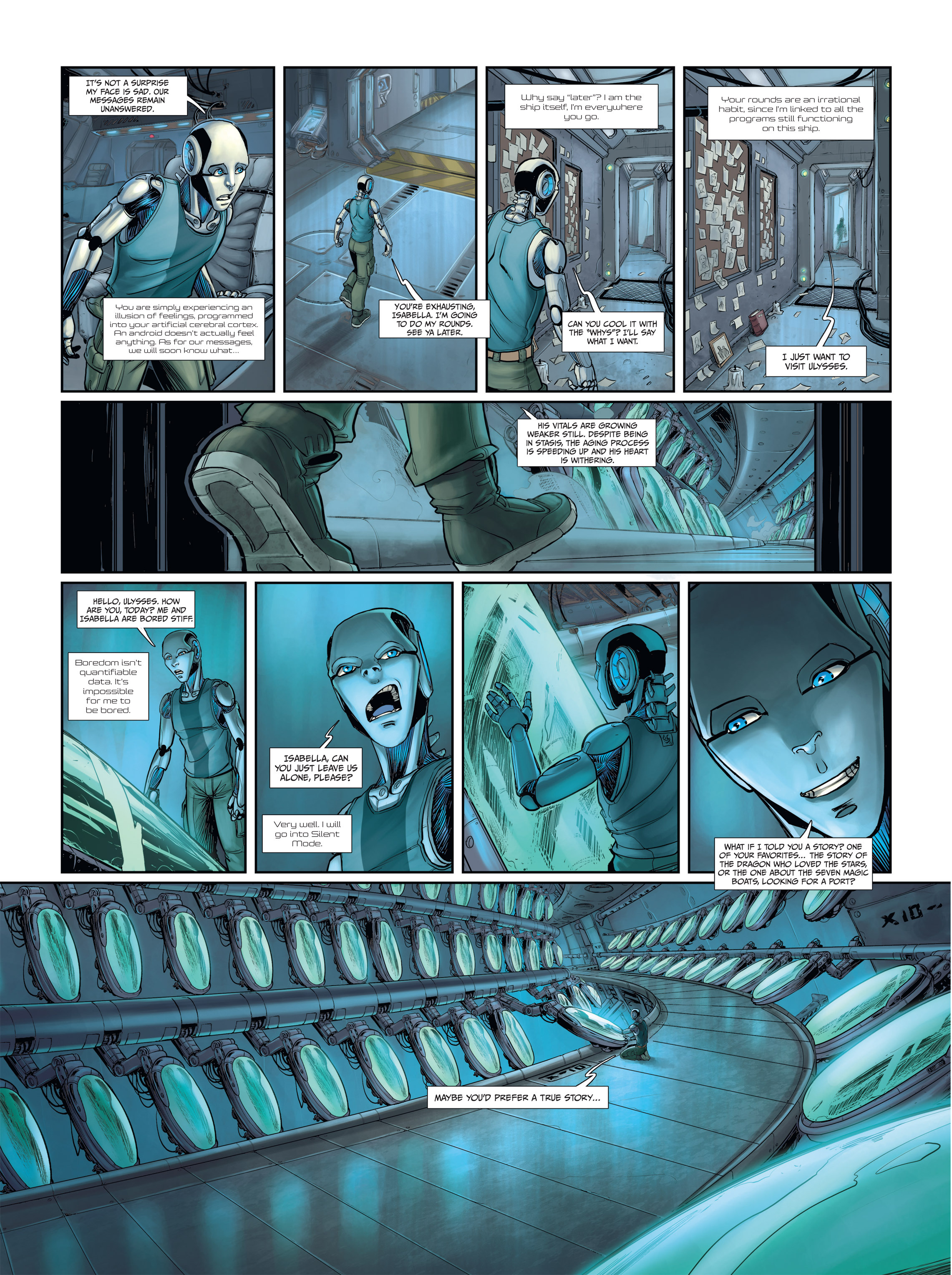 Read online Androïds comic -  Issue #2 - 4