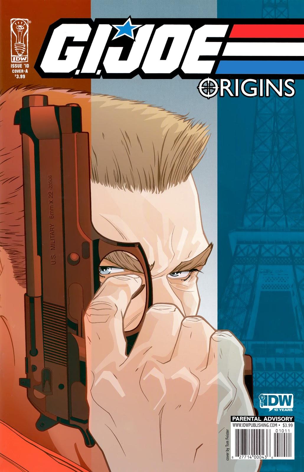 G.I. Joe: Origins issue 10 - Page 1