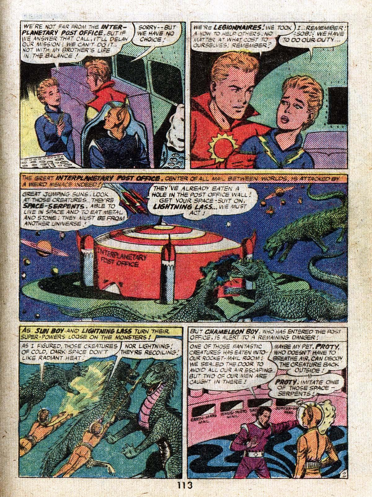 Read online Adventure Comics (1938) comic -  Issue #500 - 113
