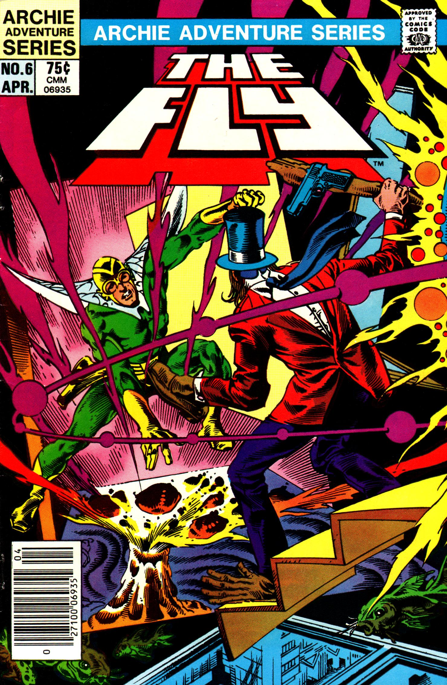 Read online The Fly (1983) comic -  Issue #6 - 1