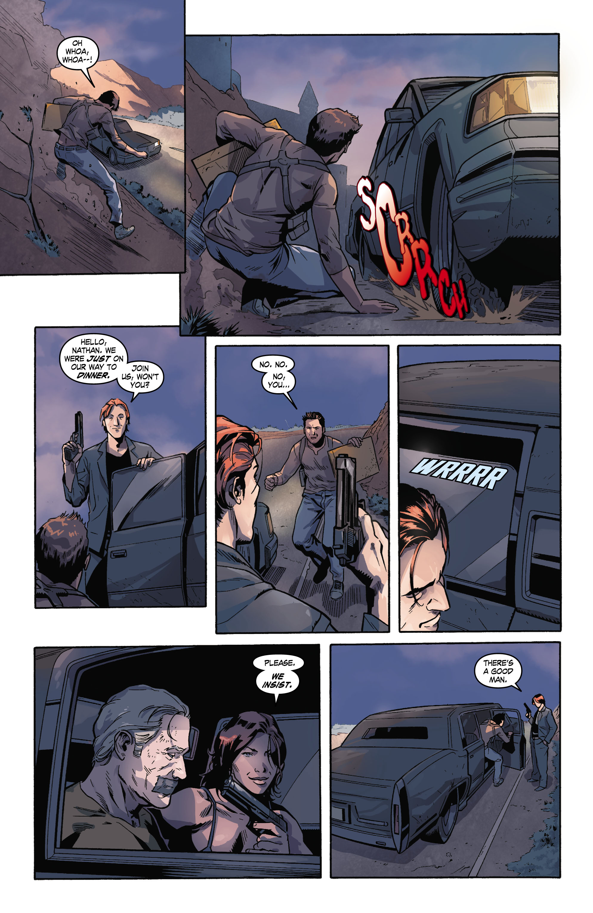 Read online Uncharted comic -  Issue #2 - 15