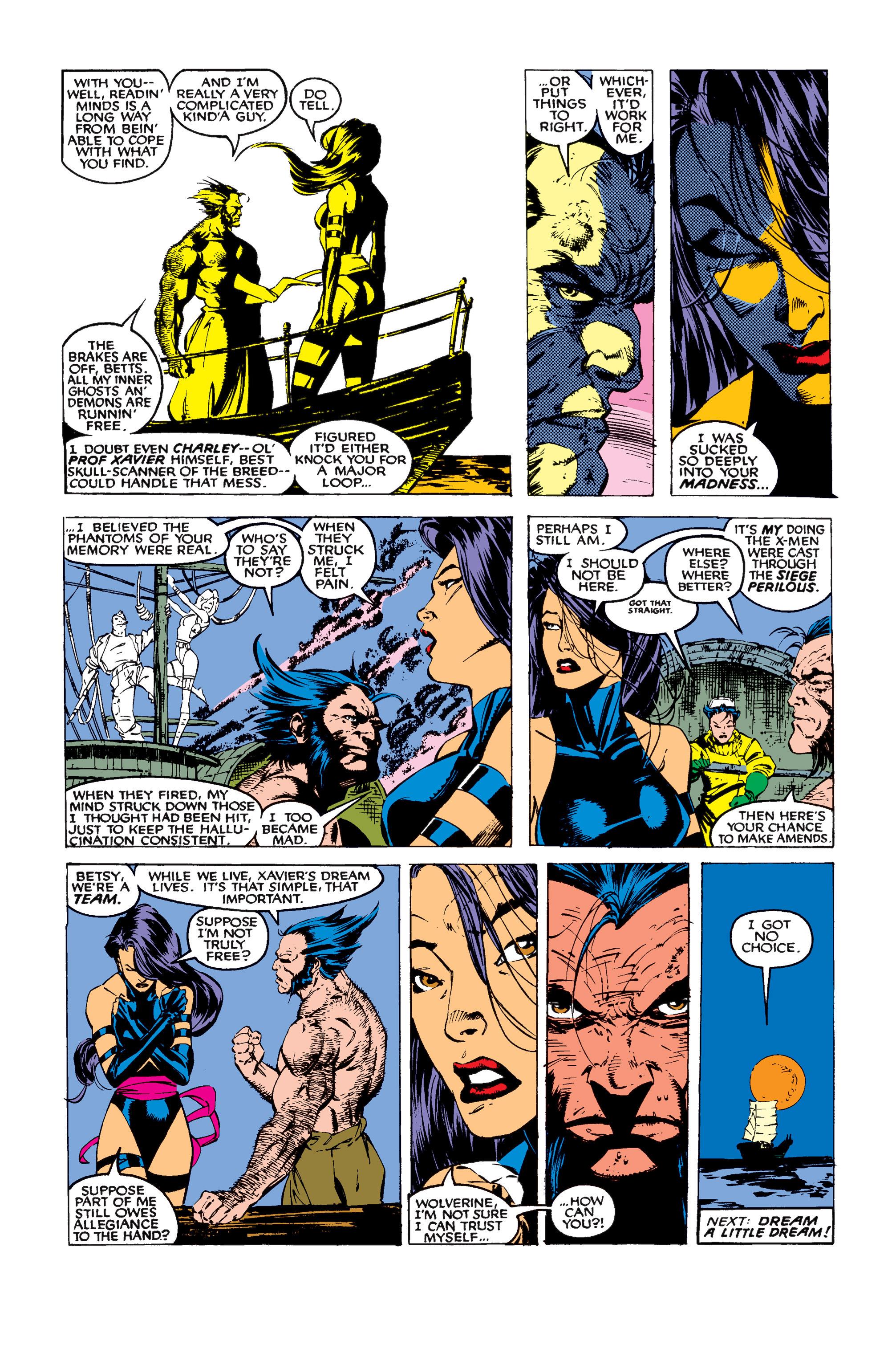 Read online Uncanny X-Men (1963) comic -  Issue #258 - 25