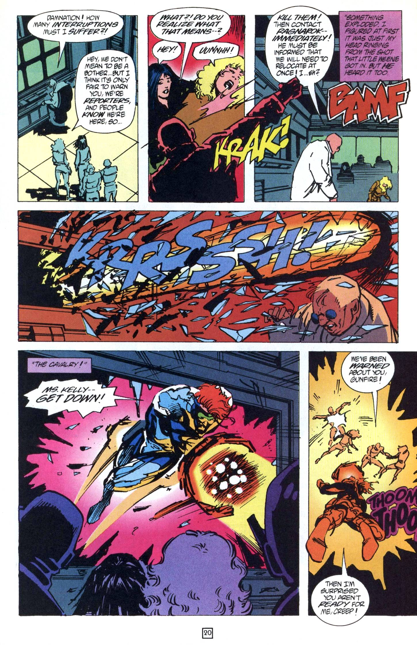 Read online Gunfire comic -  Issue #9 - 24
