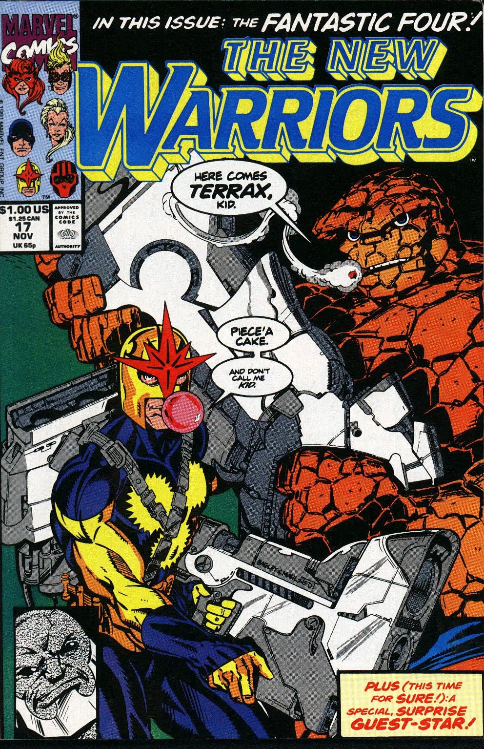 The New Warriors Issue #17 #21 - English 1