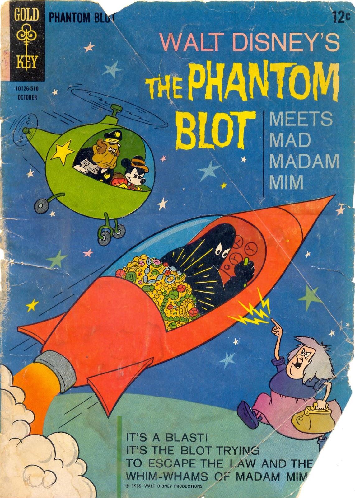 Walt Disneys The Phantom Blot 4 Page 1