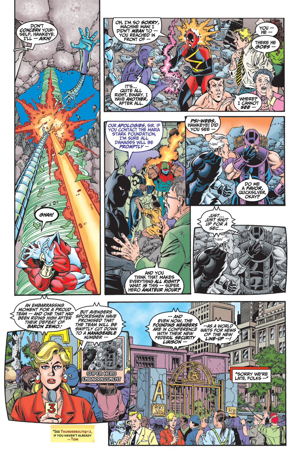 Read online Avengers (1998) comic -  Issue #4 - 5