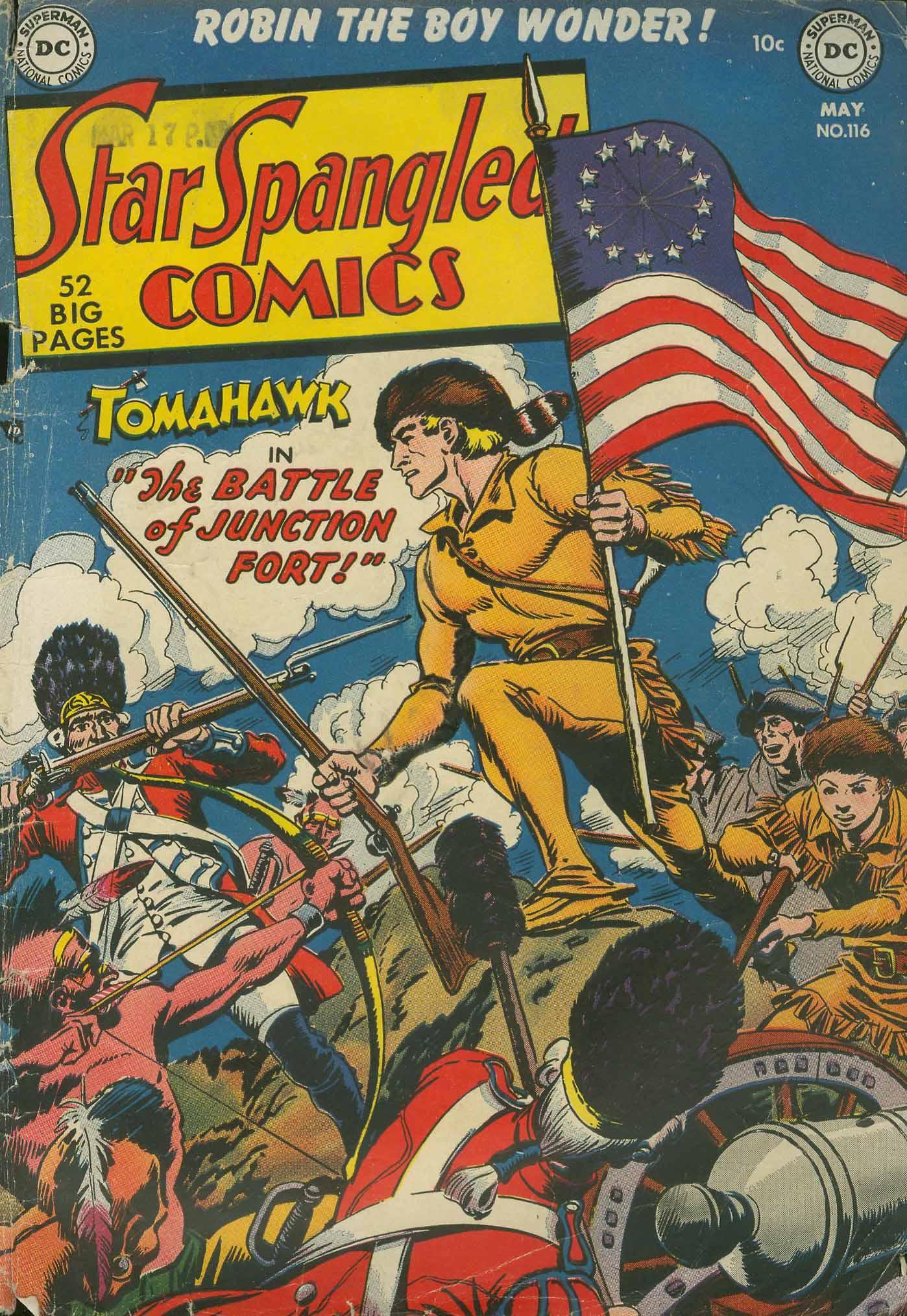 Star Spangled Comics (1941) 116 Page 1