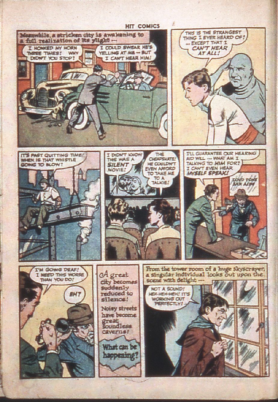 Read online Hit Comics comic -  Issue #37 - 6