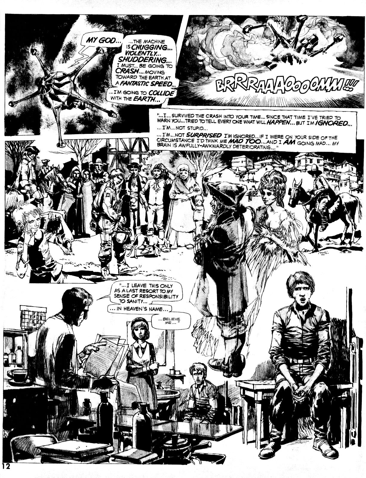 Nightmare (1970) issue 14 - Page 12