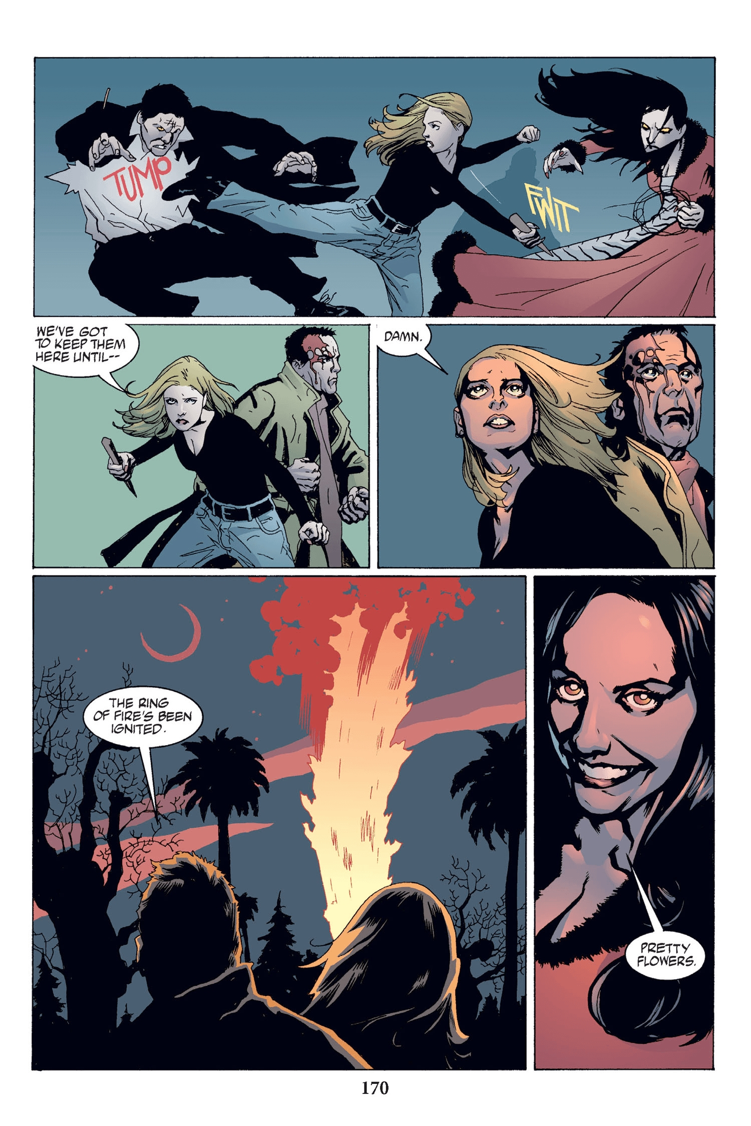 Read online Buffy the Vampire Slayer: Omnibus comic -  Issue # TPB 2 - 164
