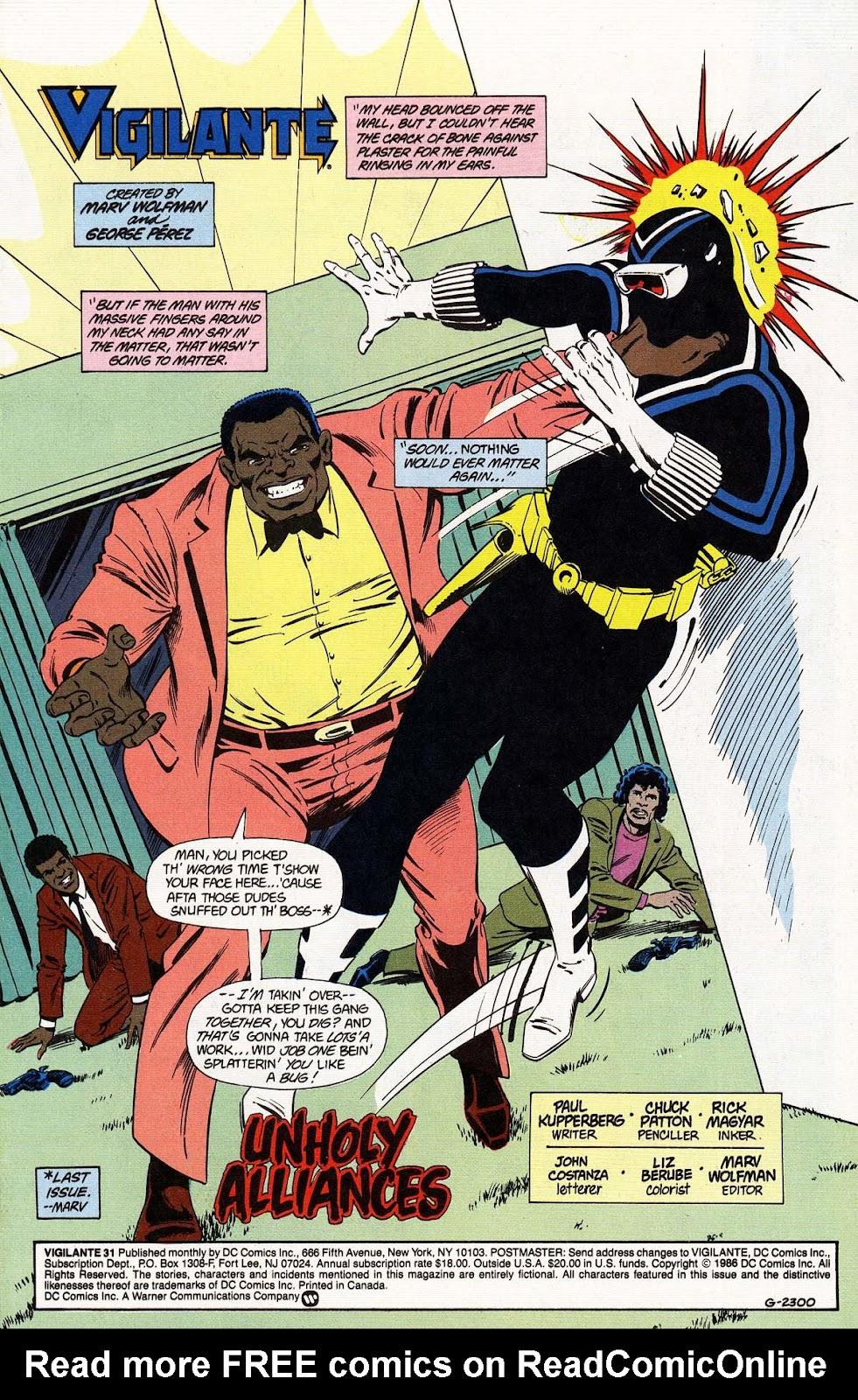 Vigilante (1983) issue 31 - Page 3