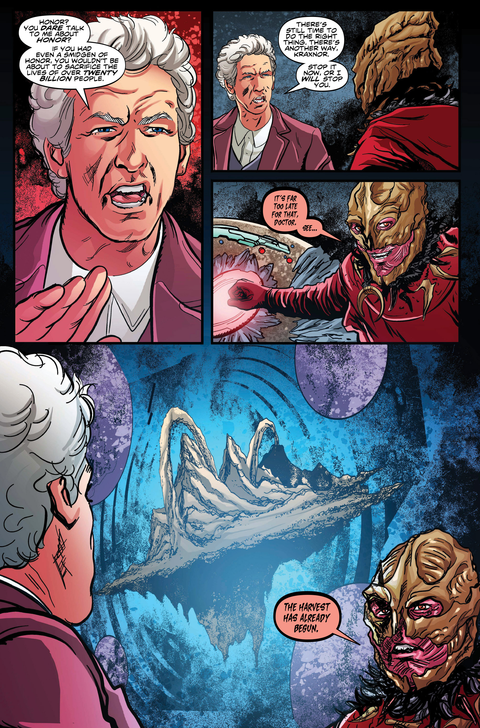 Read online Doctor Who: Ghost Stories comic -  Issue #7 - 6