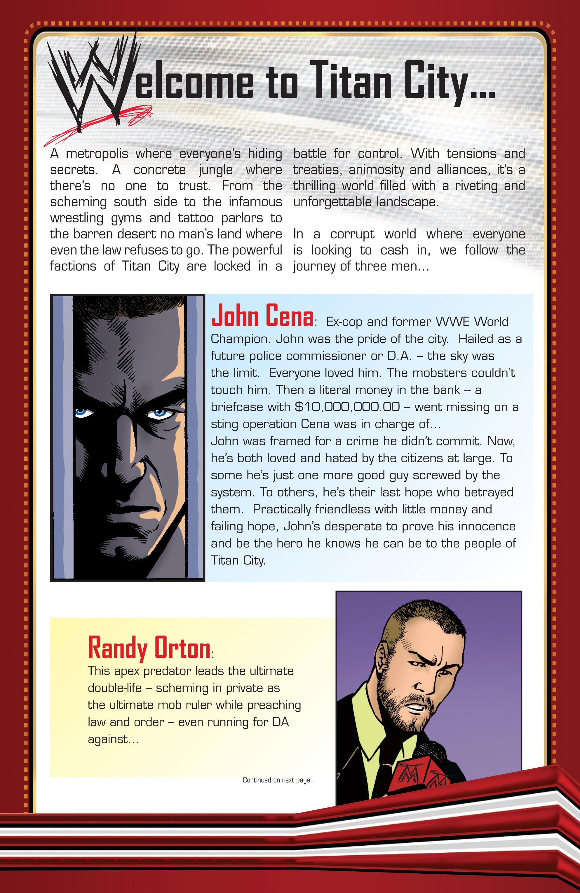 Read online WWE Superstars comic -  Issue #2 - 23