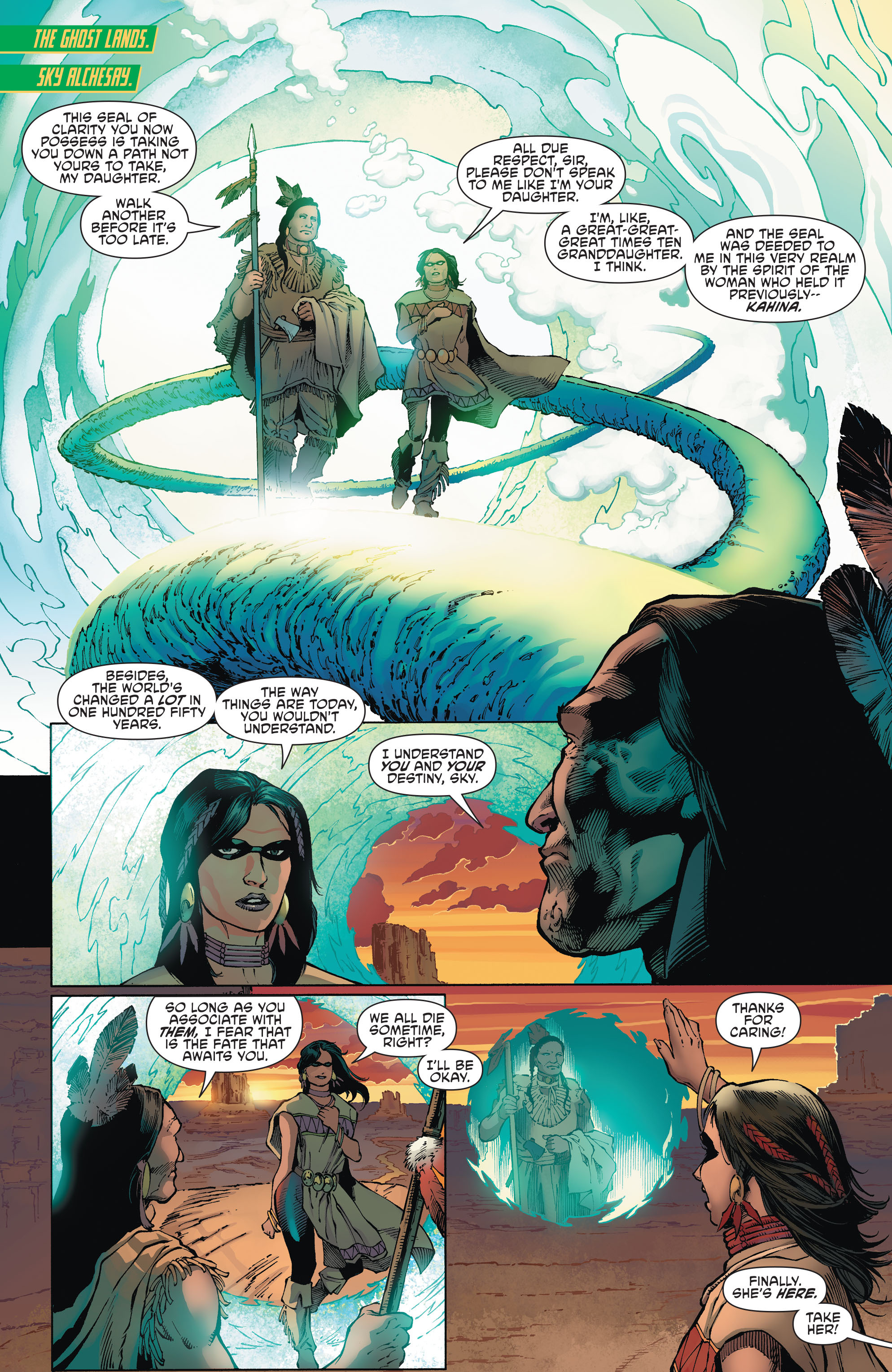 Read online Aquaman and the Others comic -  Issue #1 - 9