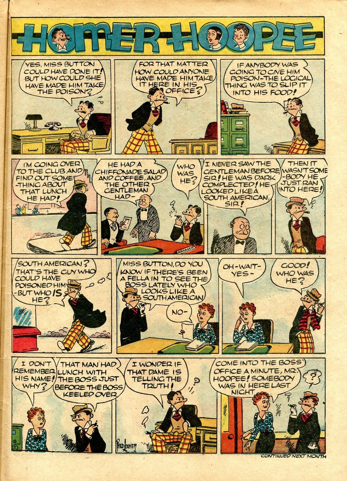 Read online Famous Funnies comic -  Issue #72 - 63