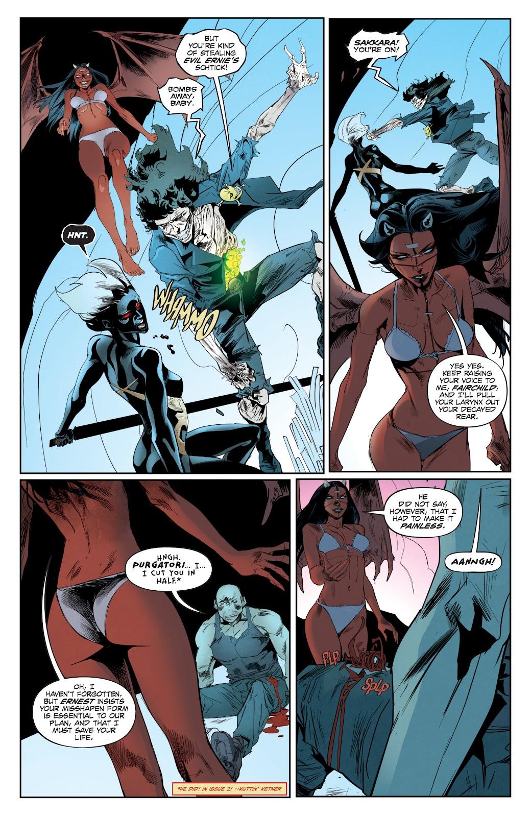 Read online Hack/Slash vs. Chaos comic -  Issue #4 - 16