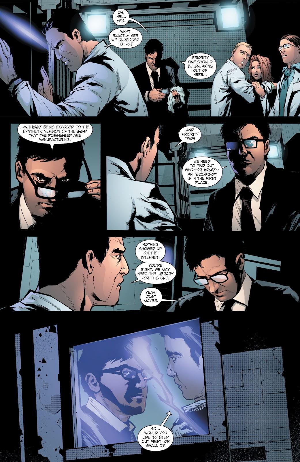 Read online Smallville Season 11 [II] comic -  Issue # TPB 8 - 92