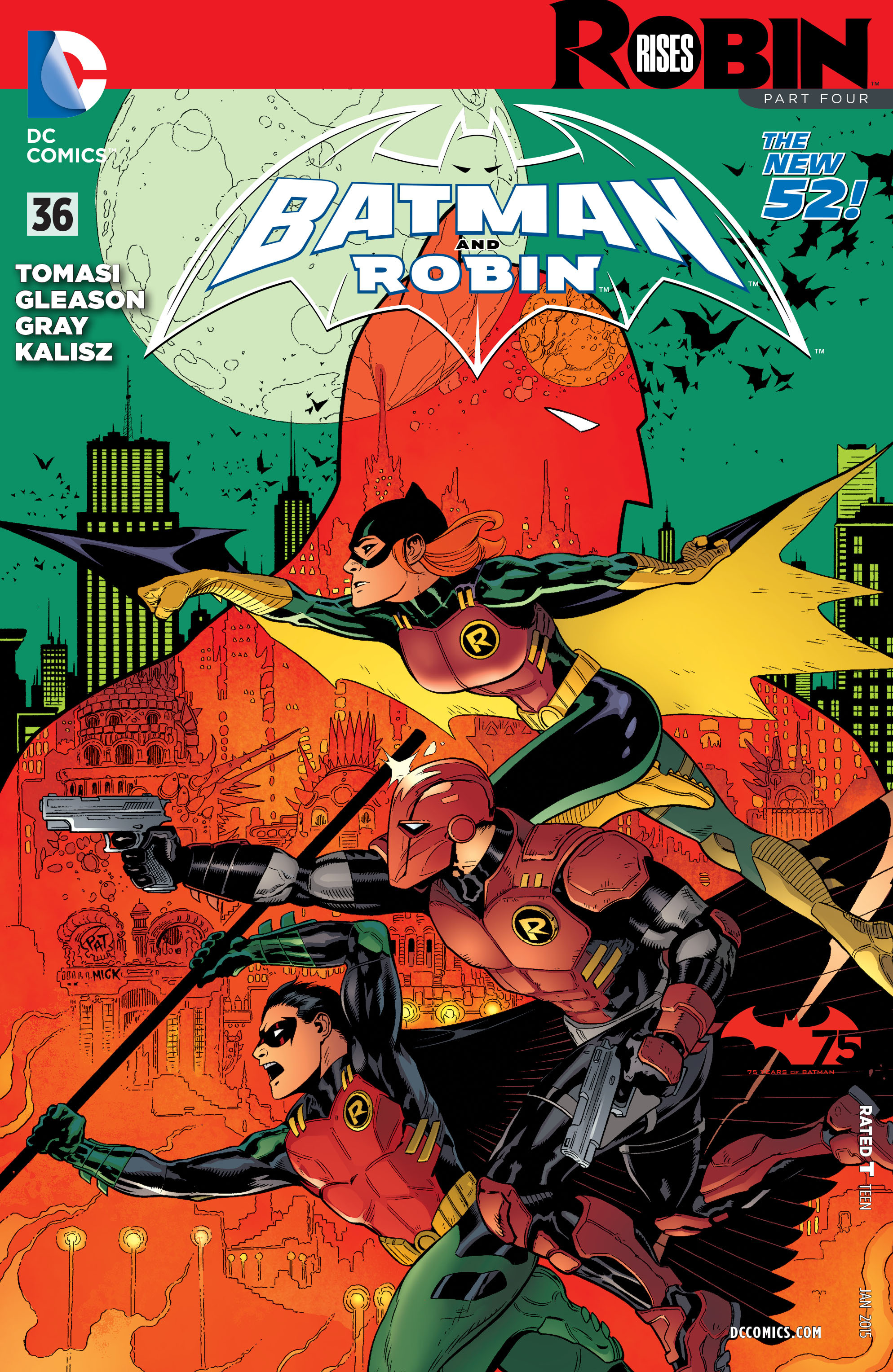 Read online Batman and Robin (2011) comic -  Issue #36 - 1