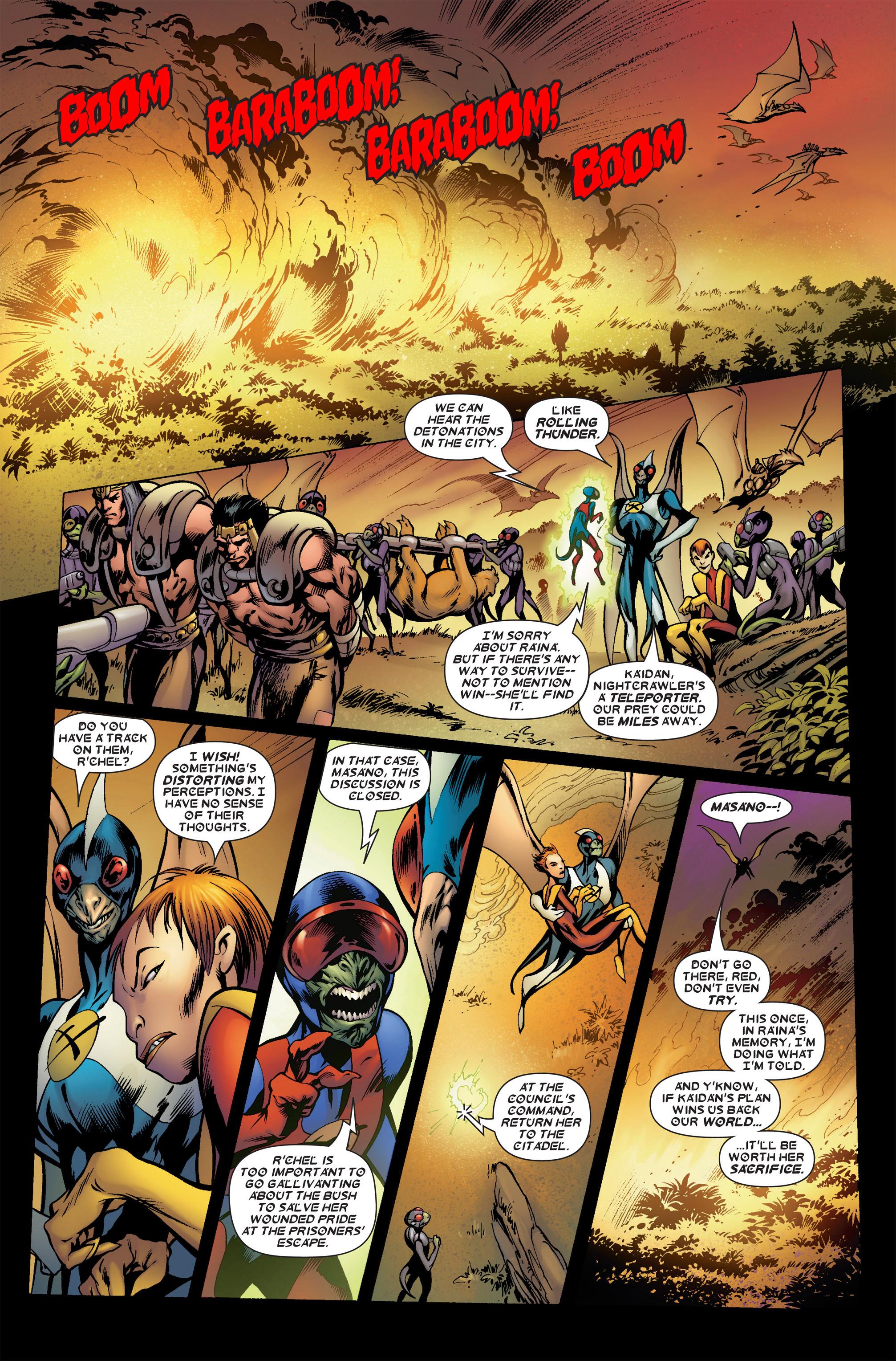 Read online Uncanny X-Men (1963) comic -  Issue #458 - 18
