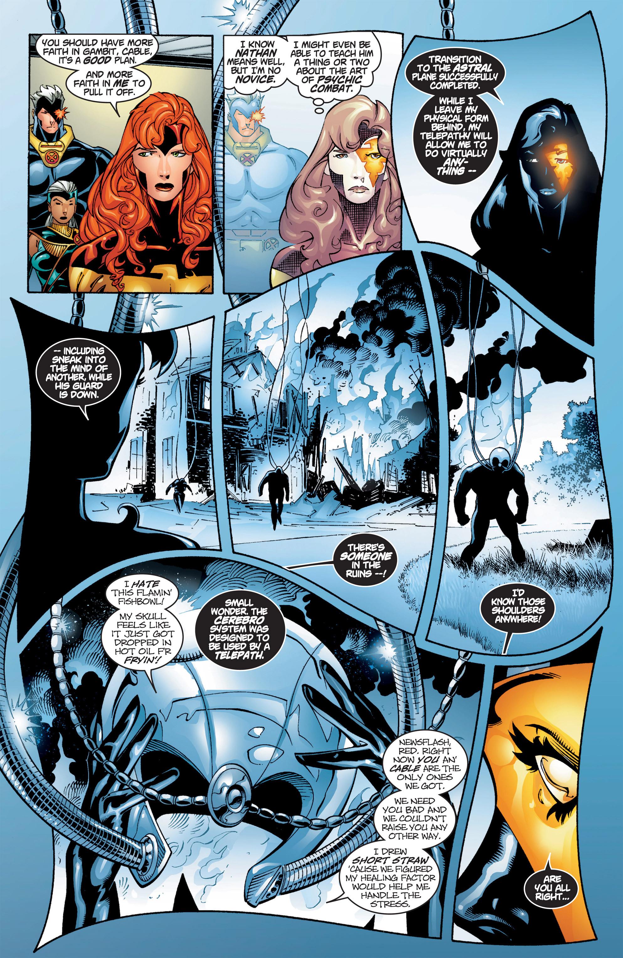 Read online Uncanny X-Men (1963) comic -  Issue #384 - 8