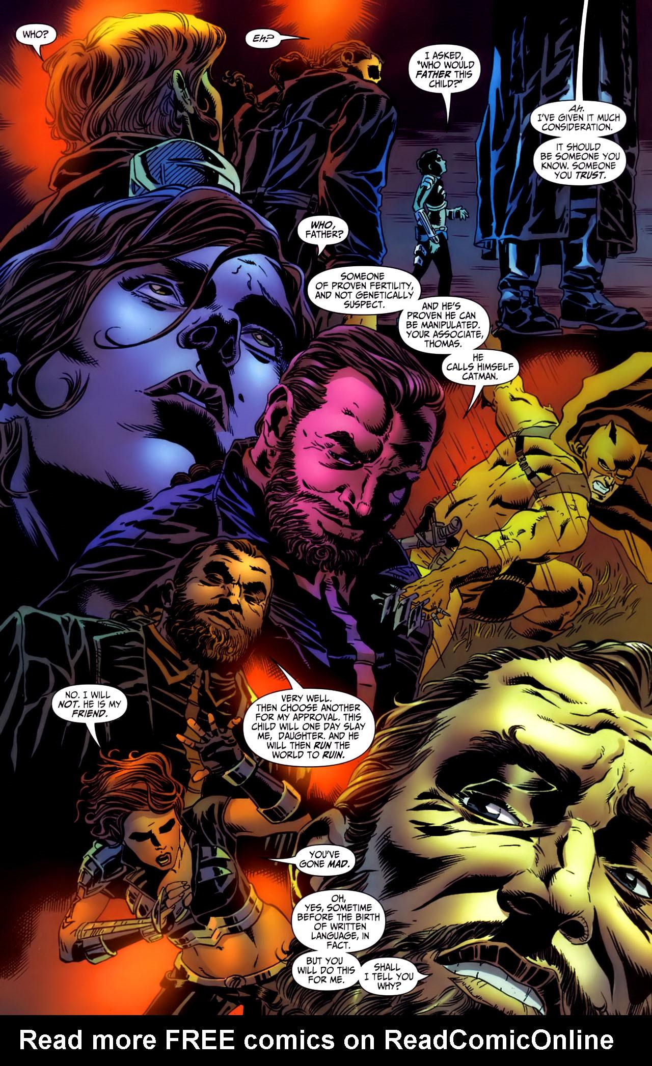 Read online Secret Six (2006) comic -  Issue #3 - 12