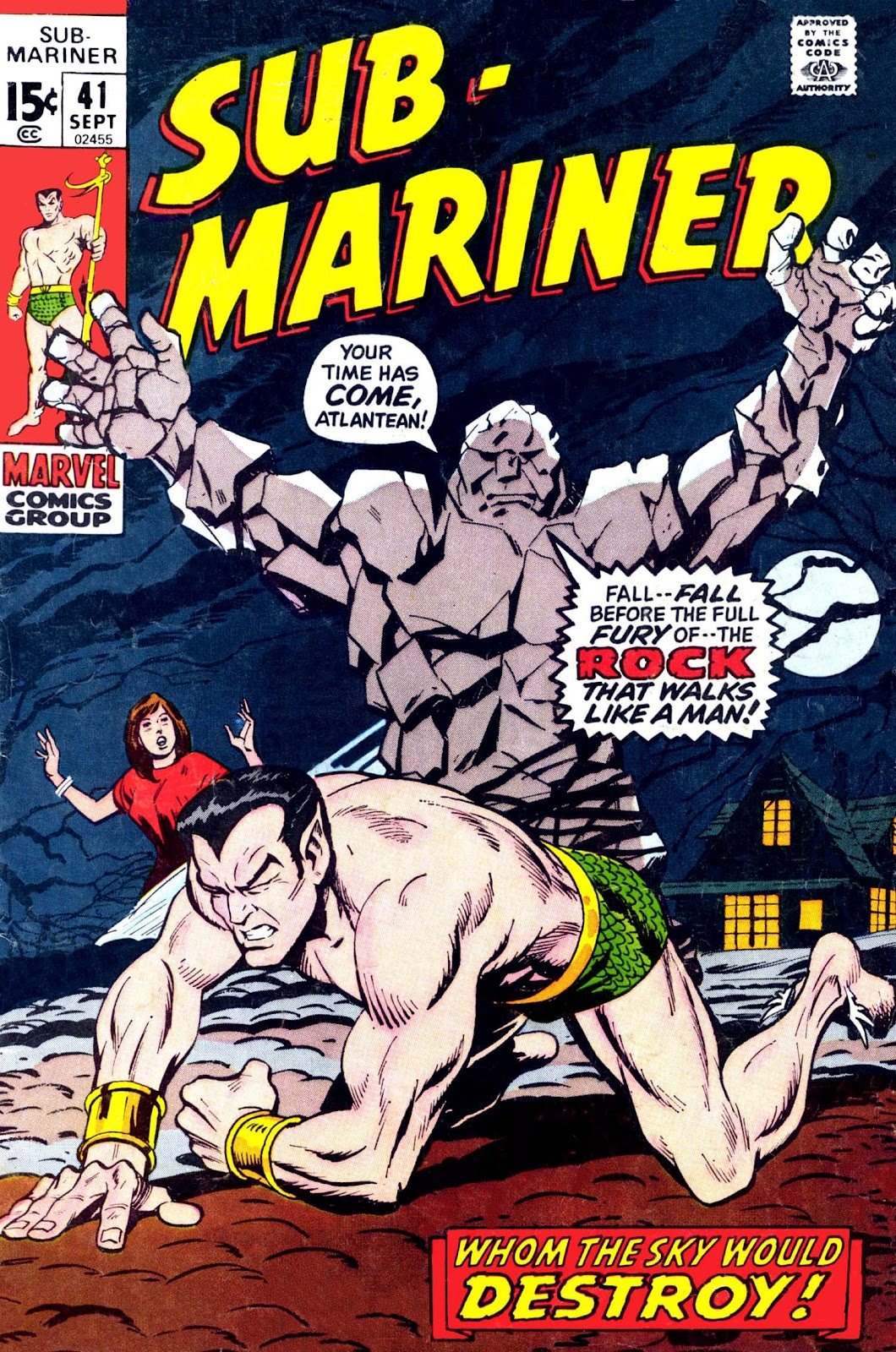 The Sub-Mariner 41 Page 1