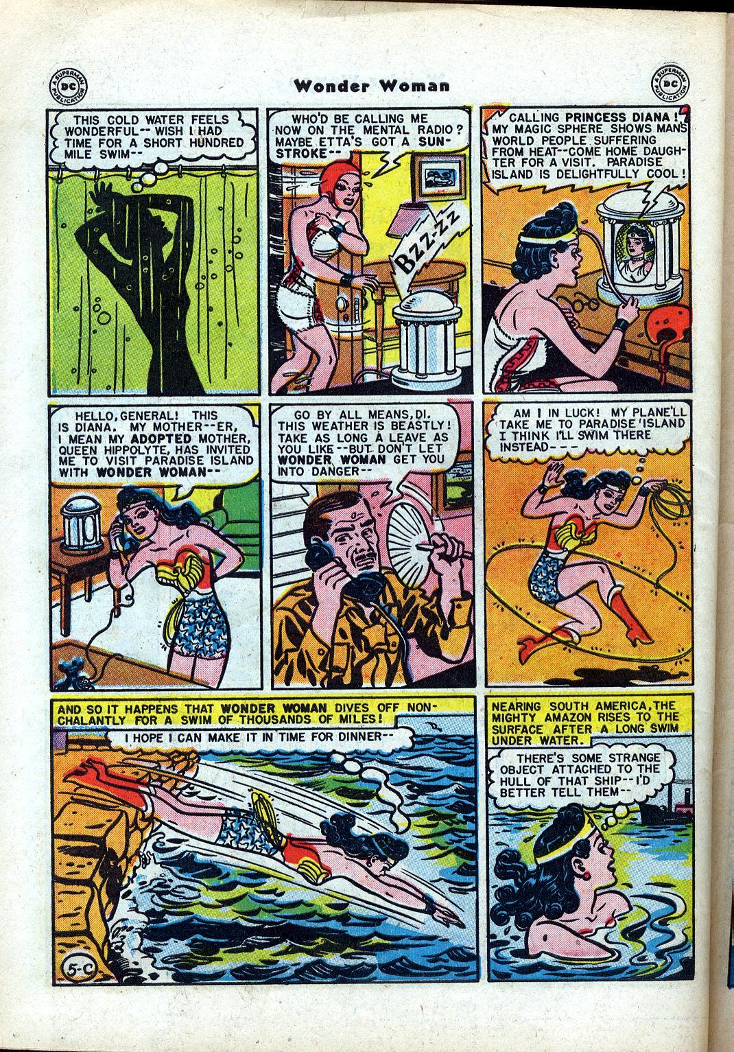 Read online Wonder Woman (1942) comic -  Issue #24 - 42