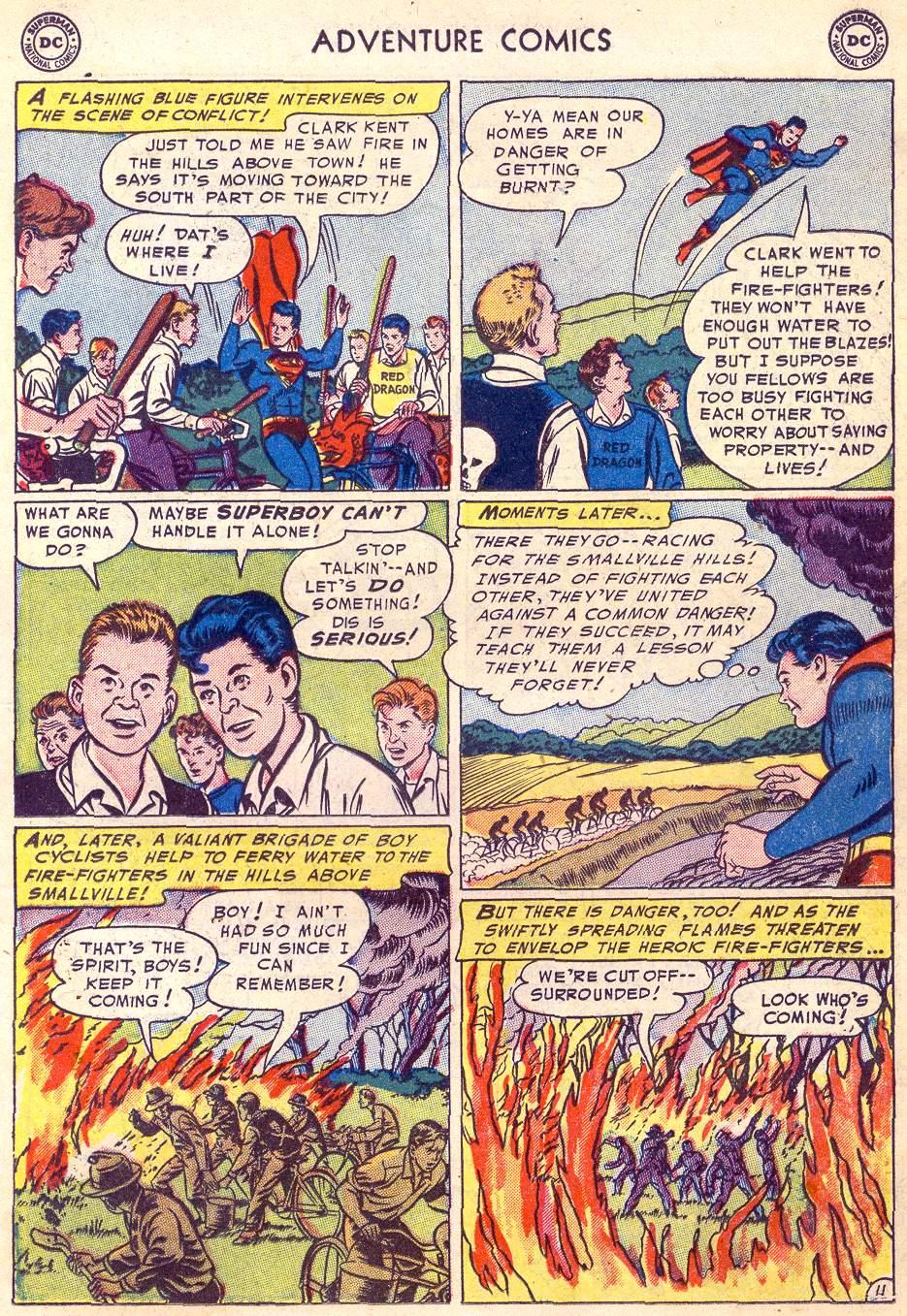 Read online Adventure Comics (1938) comic -  Issue #197 - 13