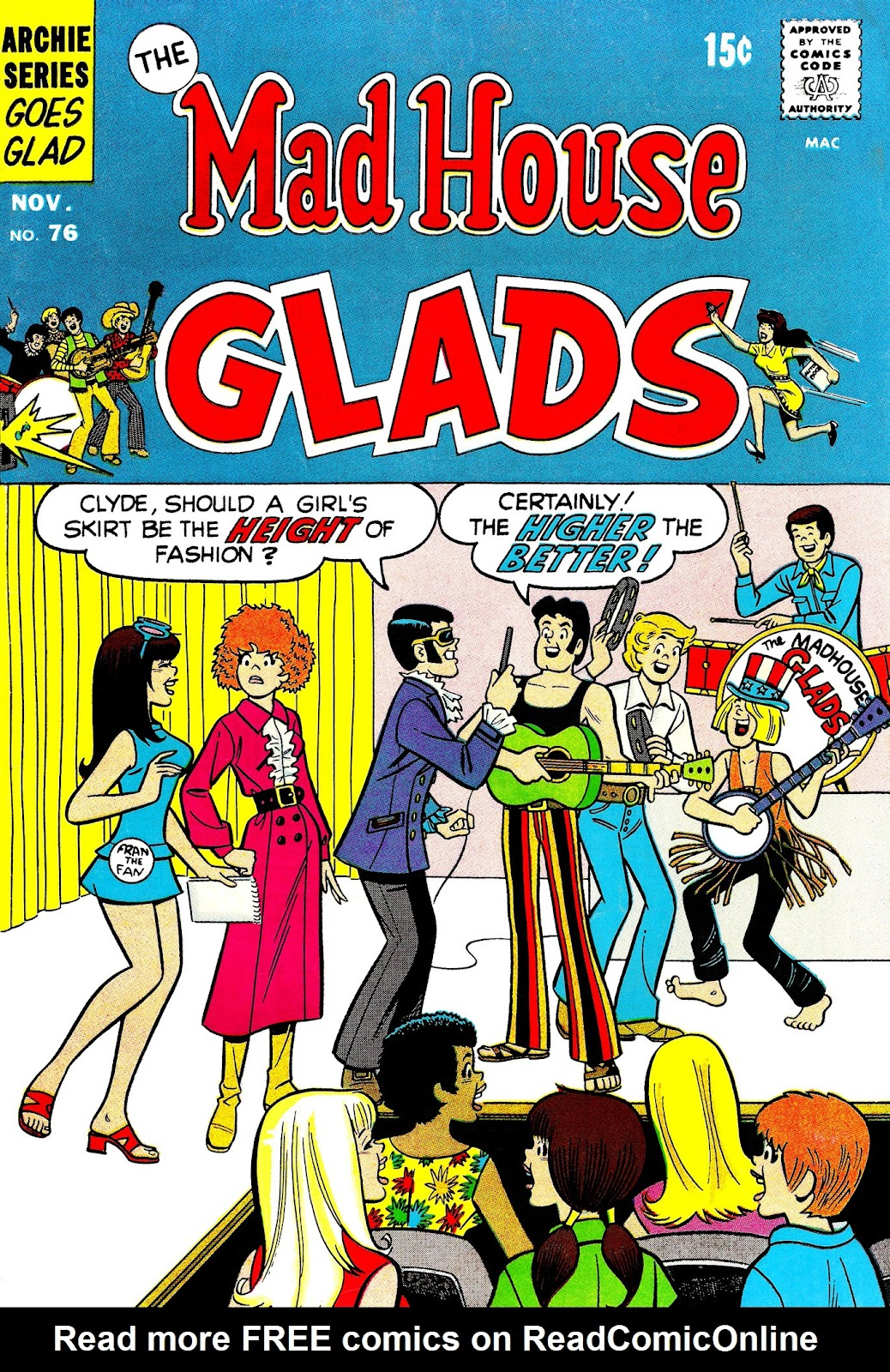 Read online The Mad House Glads comic -  Issue #76 - 1