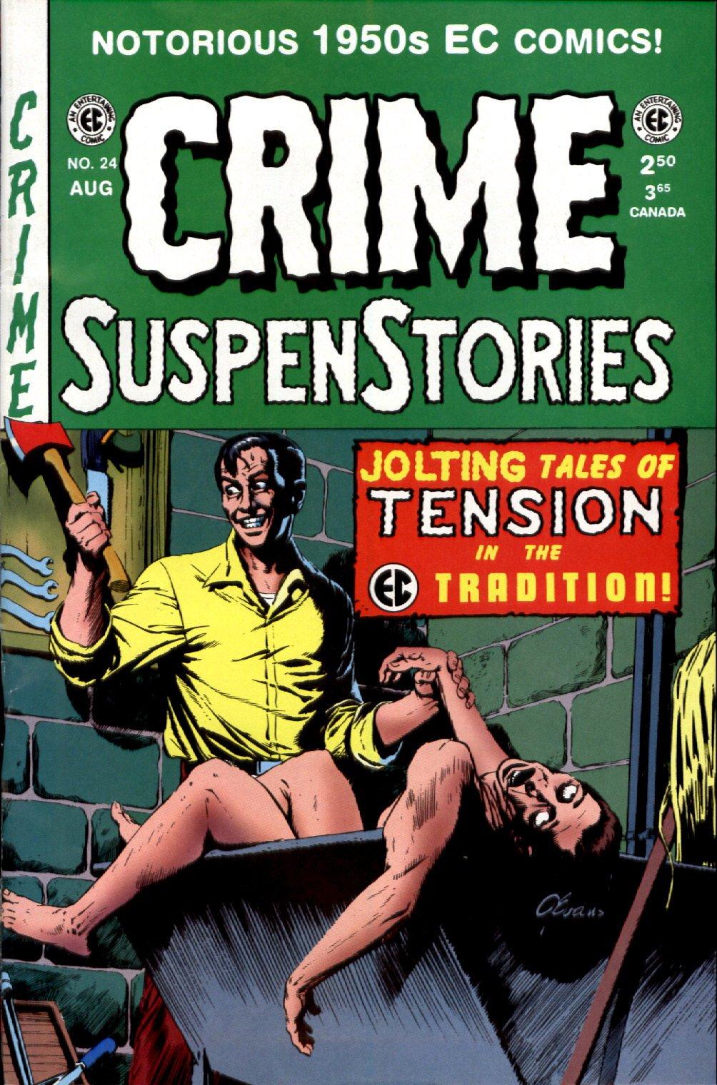 Crime SuspenStories 24 Page 1