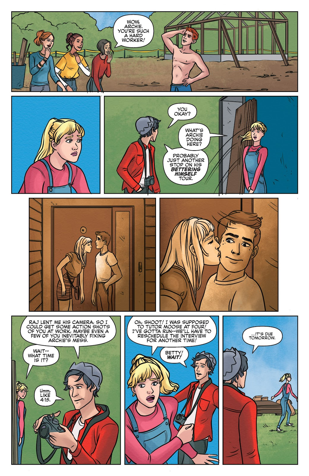 Read online Betty & Veronica (2019) comic -  Issue #2 - 7