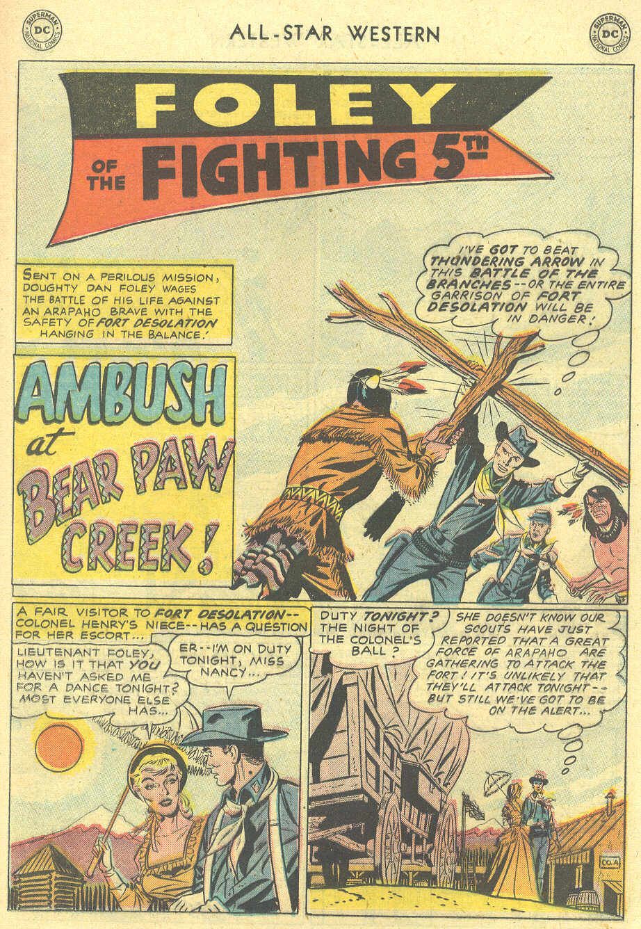Read online All-Star Western (1951) comic -  Issue #101 - 17