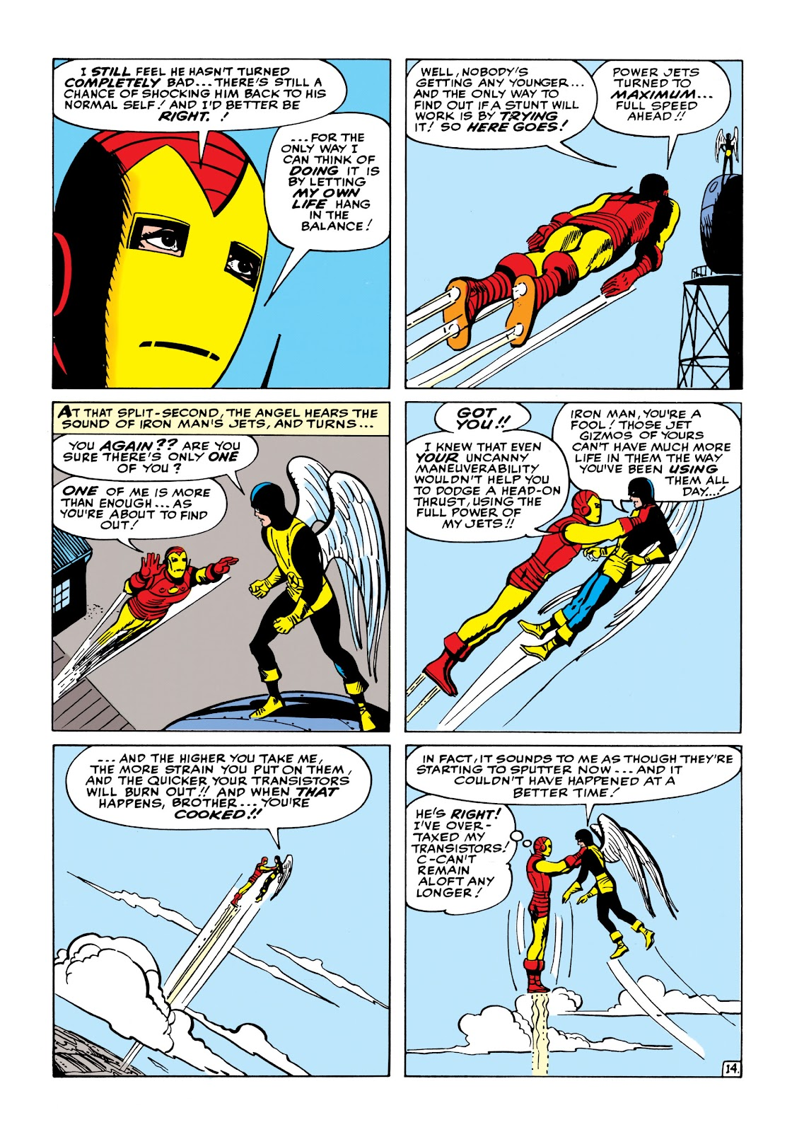 Read online Marvel Masterworks: The Invincible Iron Man comic -  Issue # TPB 1 (Part 2) - 72
